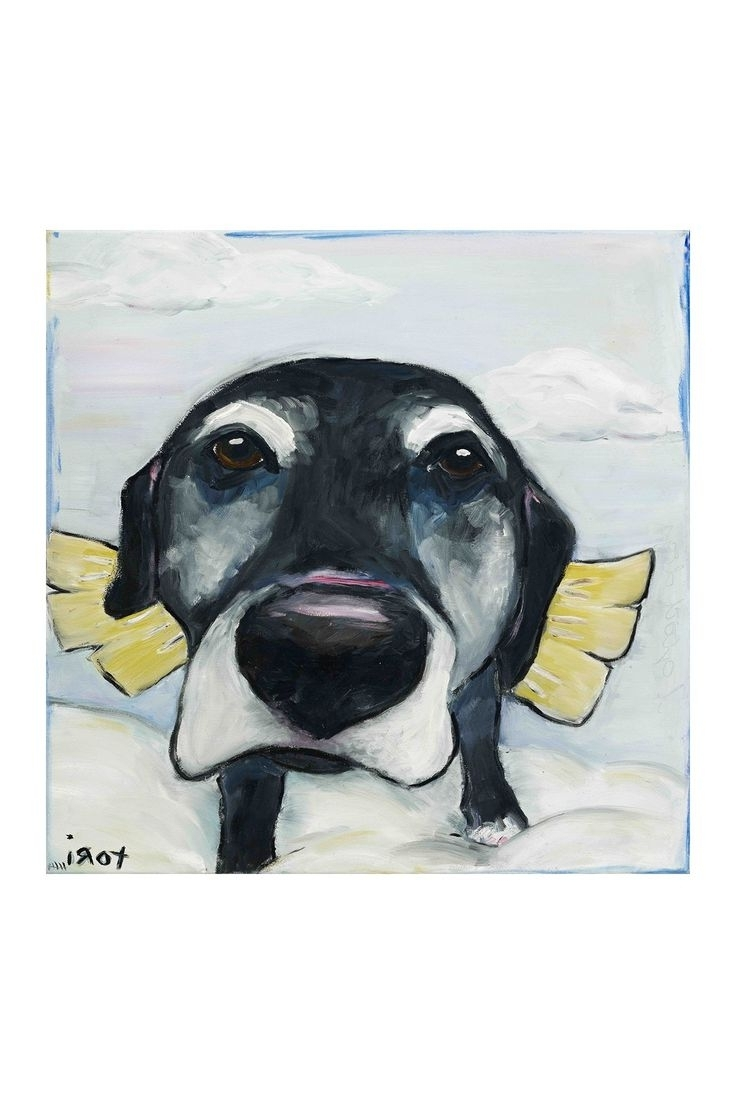 Most Recent Dogs Canvas Wall Art With 152 Best Art Images On Pinterest (View 10 of 15)