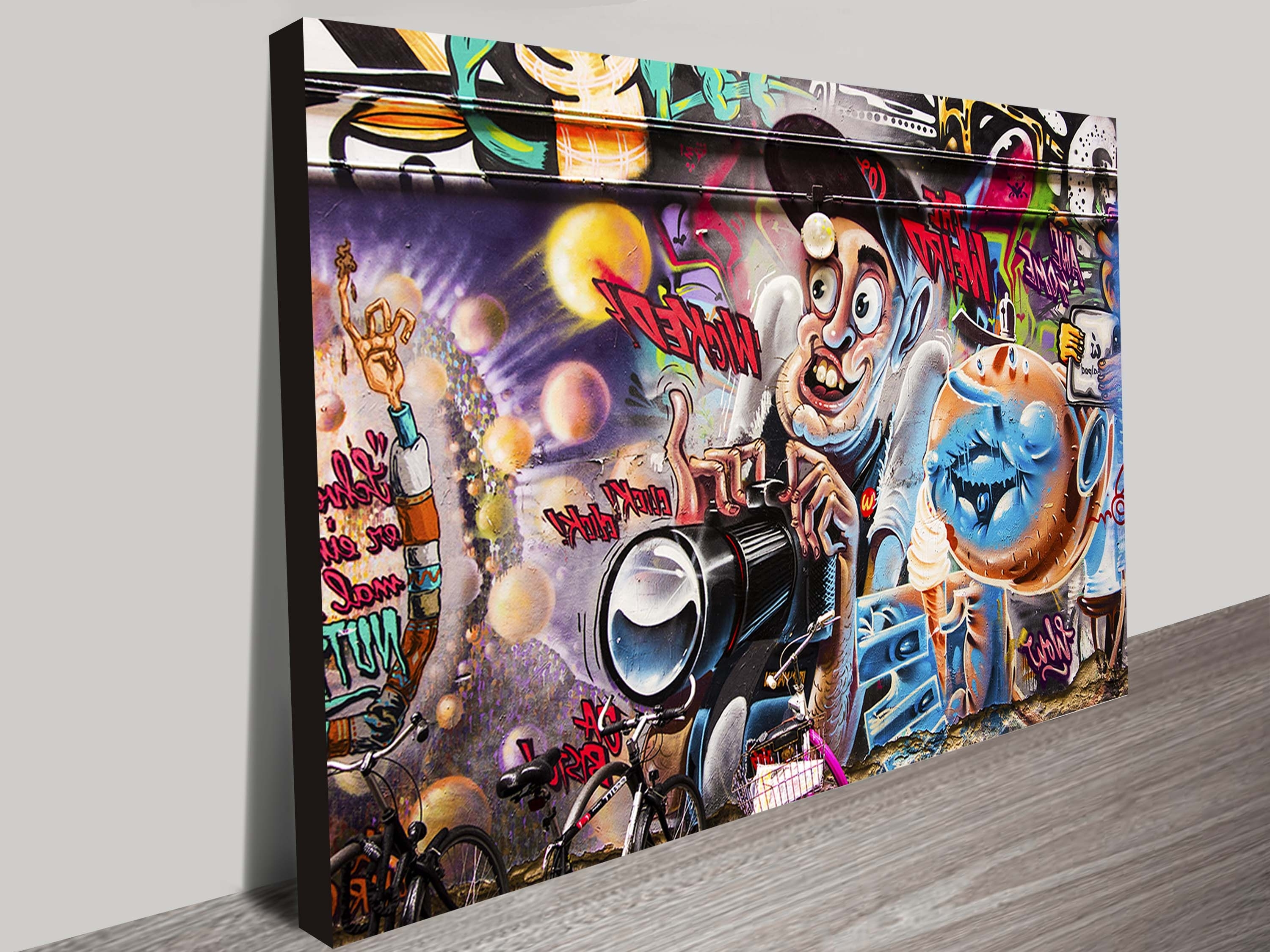Most Recent Graffiti Canvas Wall Art With Canvas Print Wall Art (View 2 of 15)