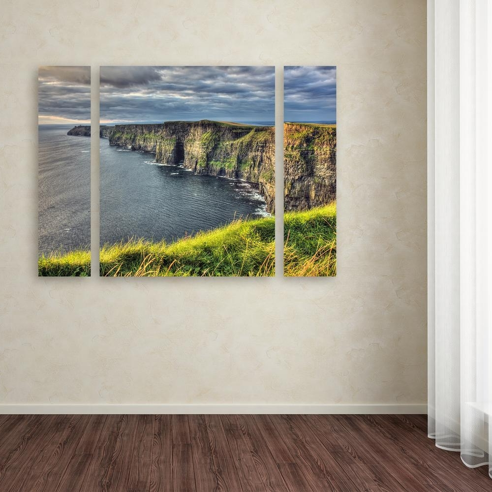 Most Recent Ireland Canvas Wall Art Intended For Trademark Fine Art 24 In. X 32 In (View 11 of 15)