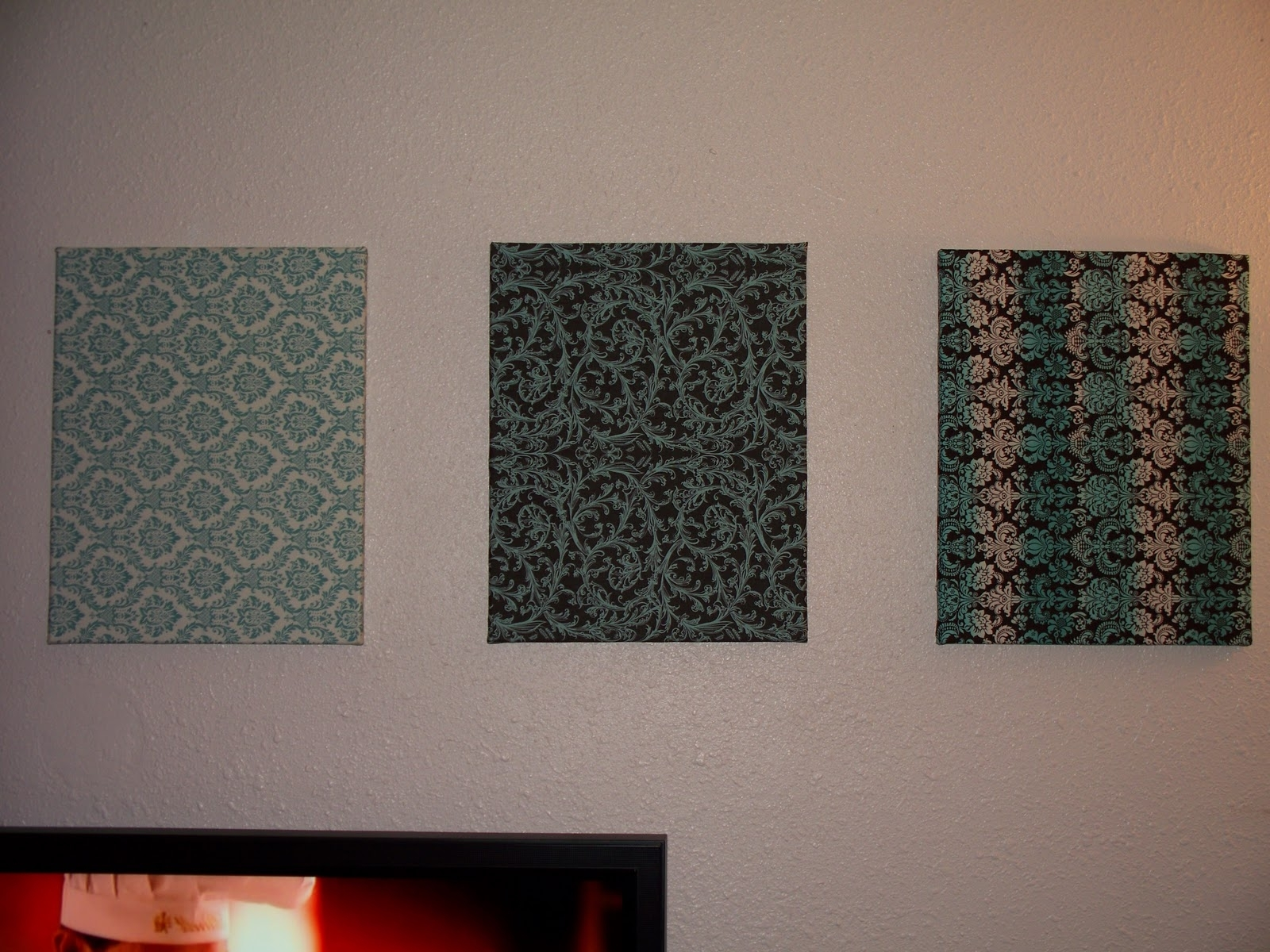 Most Recent Lulu & Sweet Pea: Wall Hangings, Another Finished Quilt, & Late Intended For Cheap Fabric Wall Art (View 14 of 15)