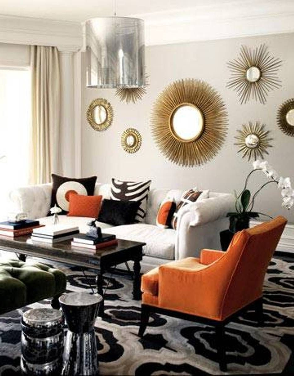 Most Recent Mirrors Wall Accents Inside Home Design And Decor , Decorative Sunburst Mirror Wall Decor (View 9 of 15)