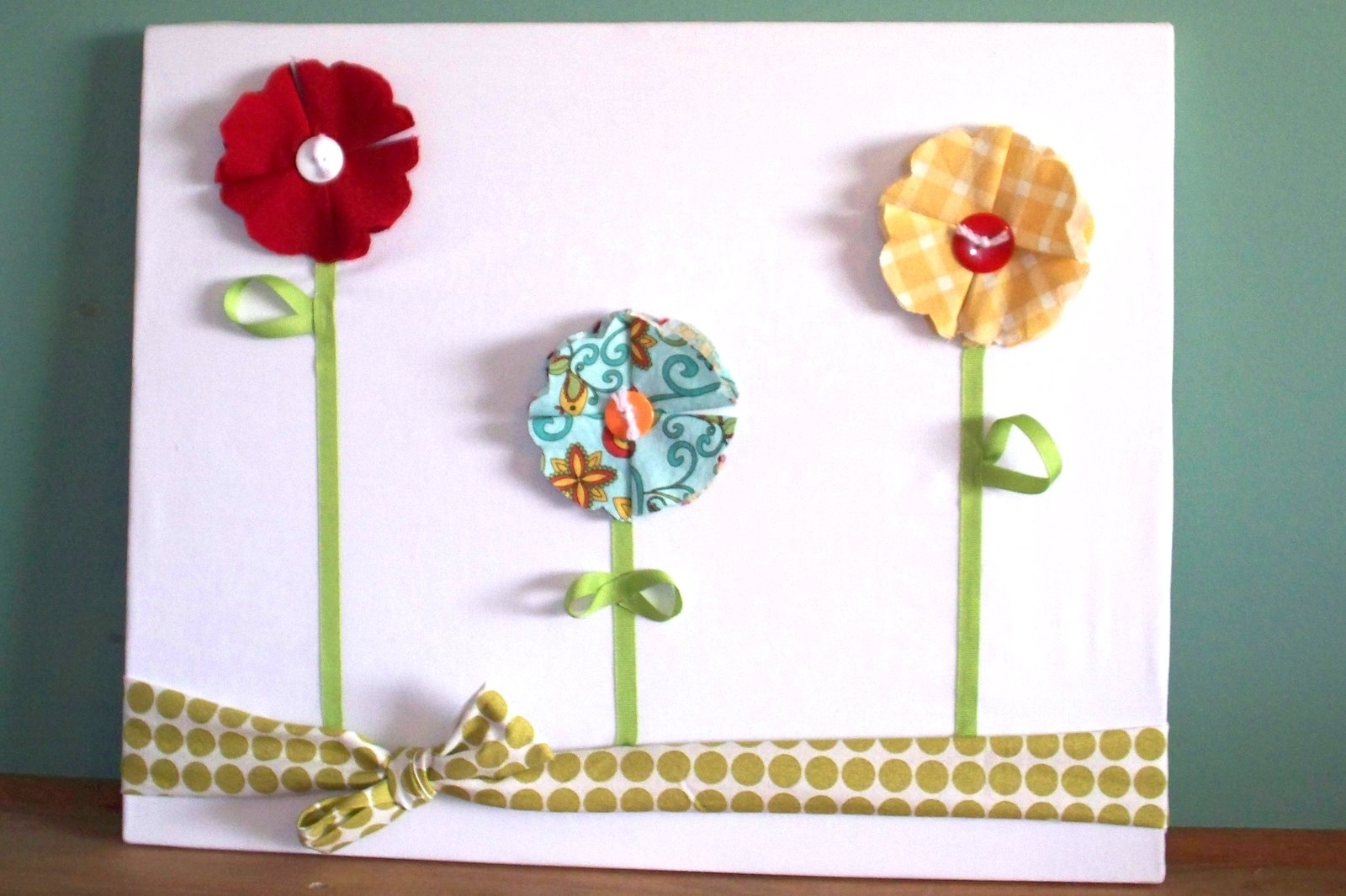 Most Recently Released Chicy Creations: 3d Fabric Flower Wall Art With Regard To Fabric Flower Wall Art (View 5 of 15)