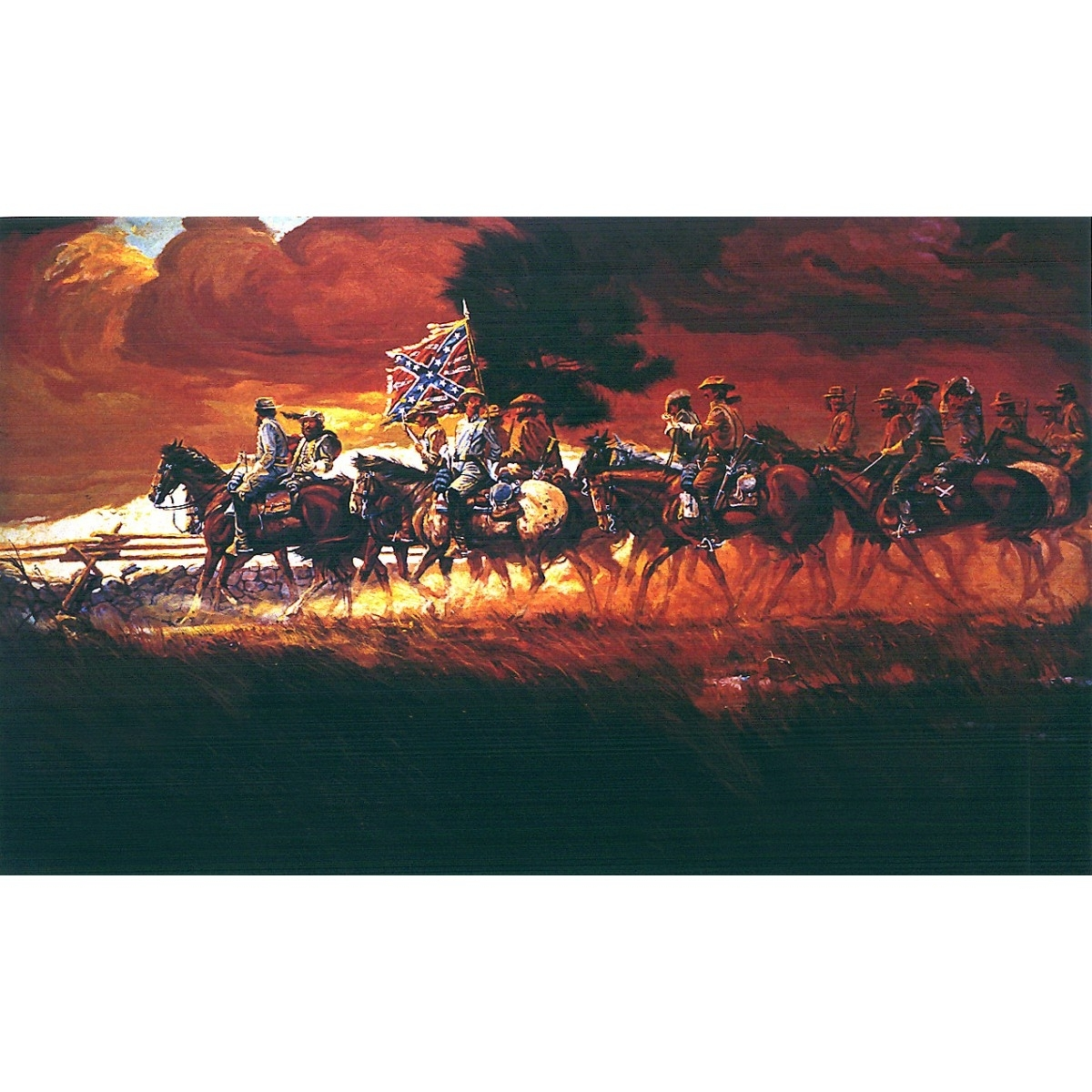 Most Recently Released Confederate Autumn Print – Prints – Art Reproductions – Confederate For Confederate Framed Art Prints (View 6 of 15)