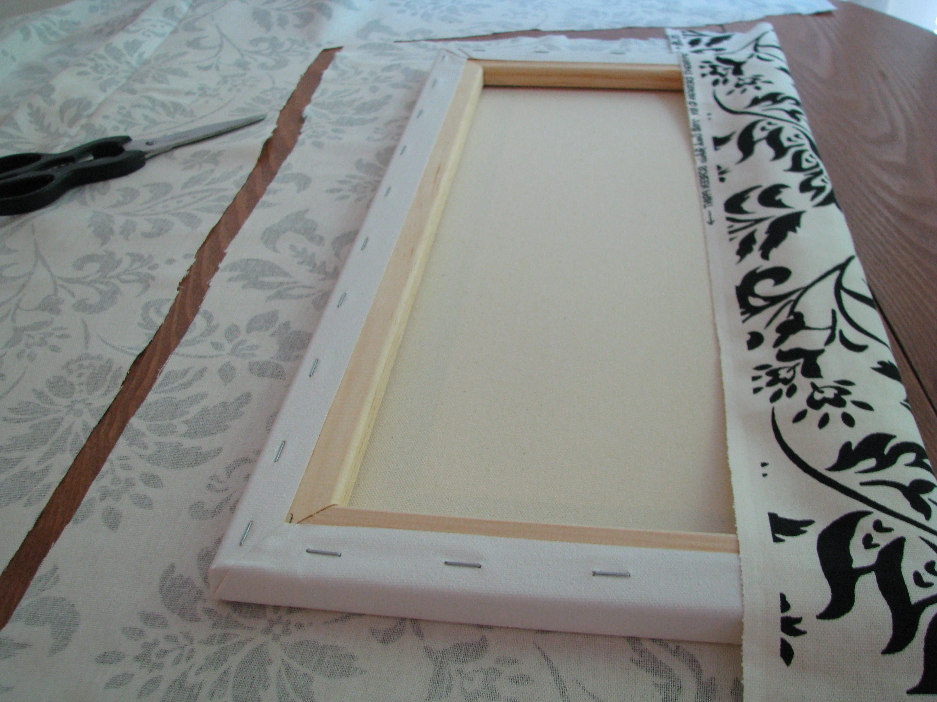 Most Recently Released Fabric Covered Frames Wall Art Within Make Your Own Canvas Wall Hangings (View 12 of 15)