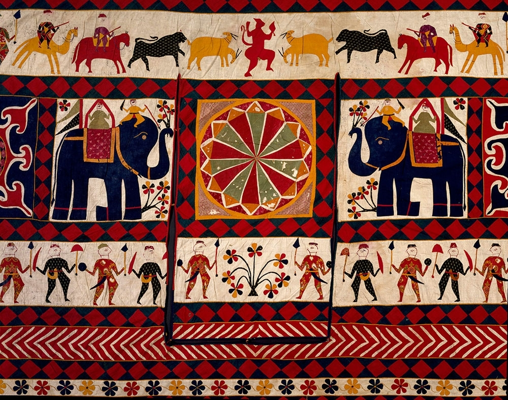 Most Recently Released Indian Fabric Art Wall Hangings Throughout The Fabric Of India At The V&a – Hali (View 11 of 15)