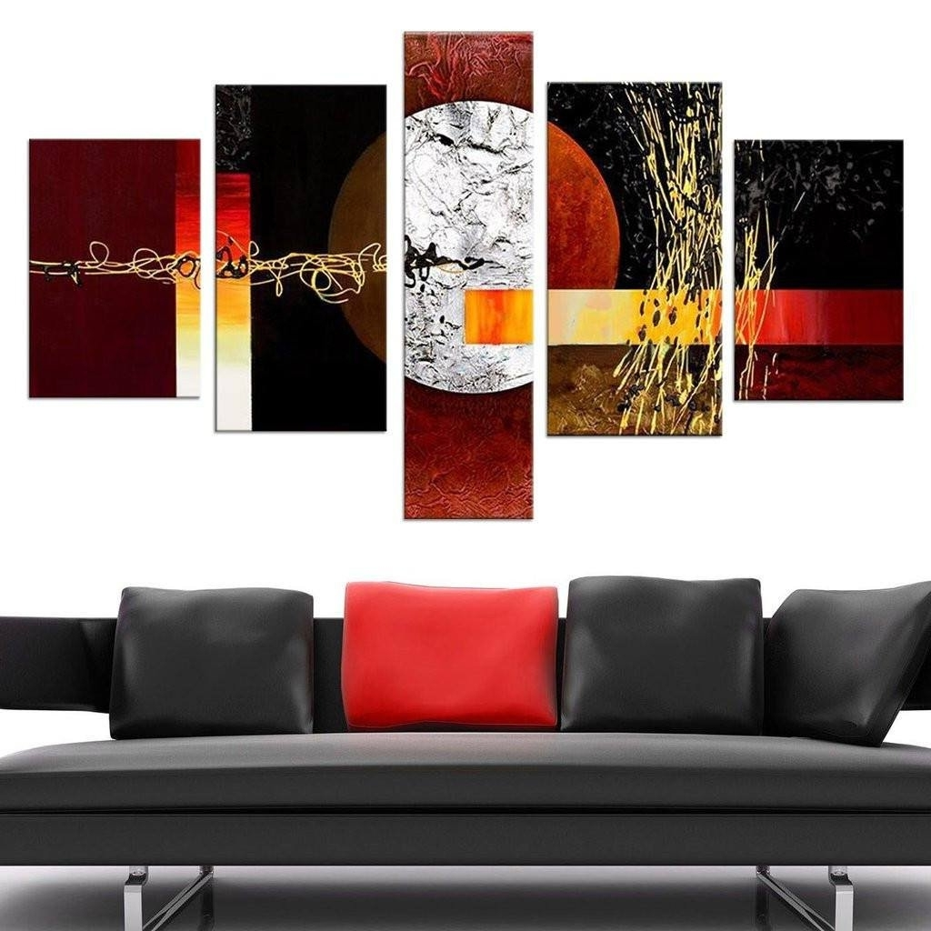 Most Recently Released Kohls 5 Piece Canvas Wall Art Intended For Designs : Japanese Tree 5 Piece Canvas Wall Art Set Also 5 Piece (View 8 of 15)