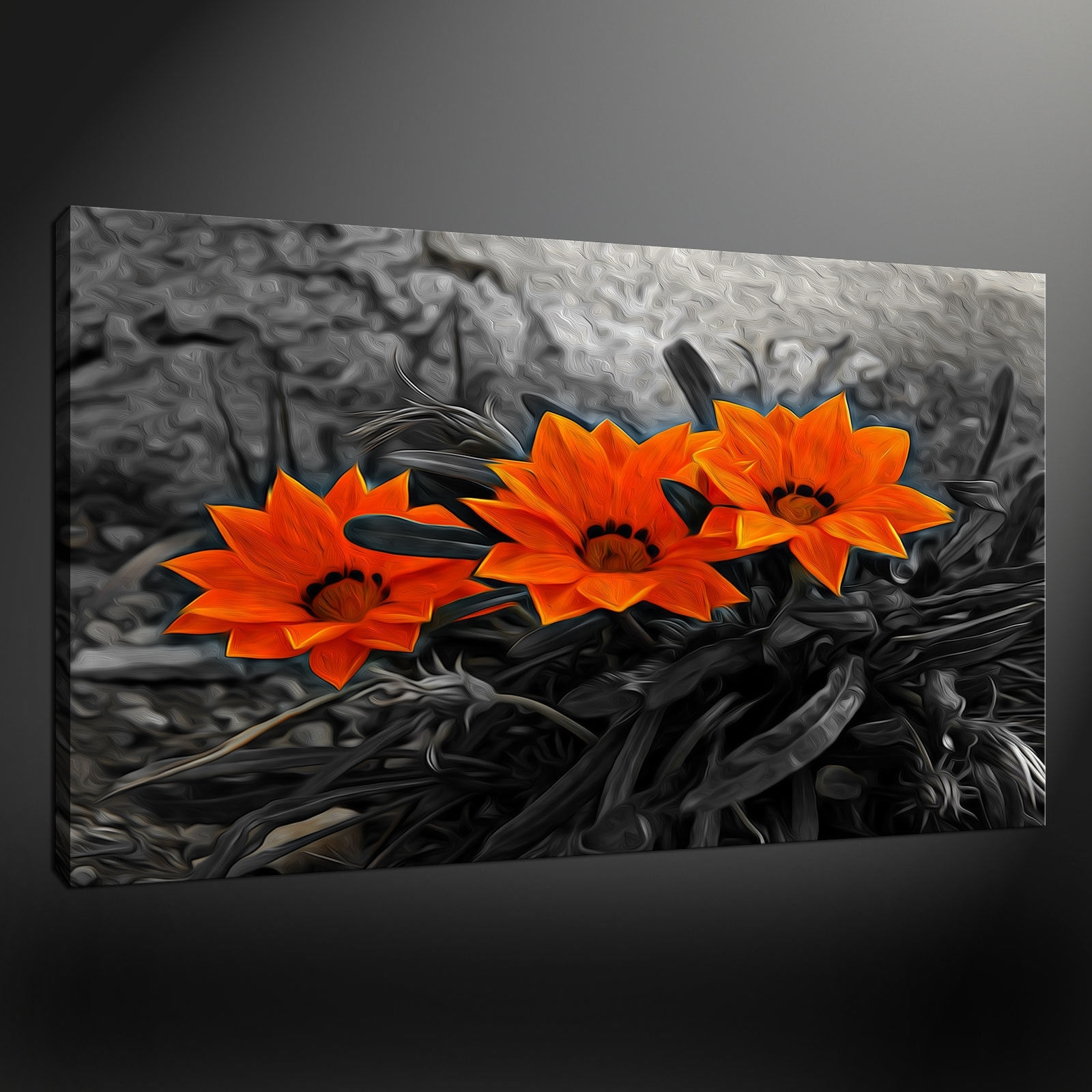 Most Recently Released Orange Canvas Wall Art Within Canvas Print Pictures. High Quality, Handmade, Free Next Day Delivery (View 6 of 15)