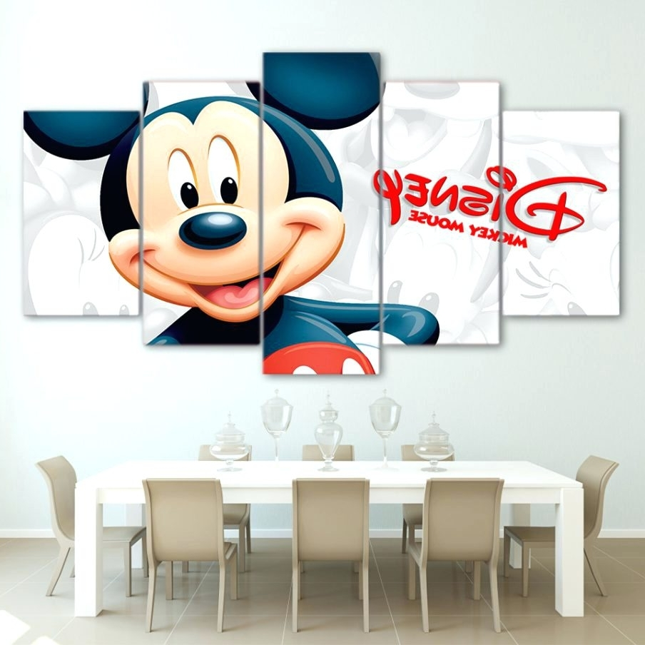 Most Recently Released Wall Arts ~ Mickey Mouse Vinyl Wall Art Disney Mickey Mouse Canvas Regarding Mickey Mouse Canvas Wall Art (View 9 of 15)