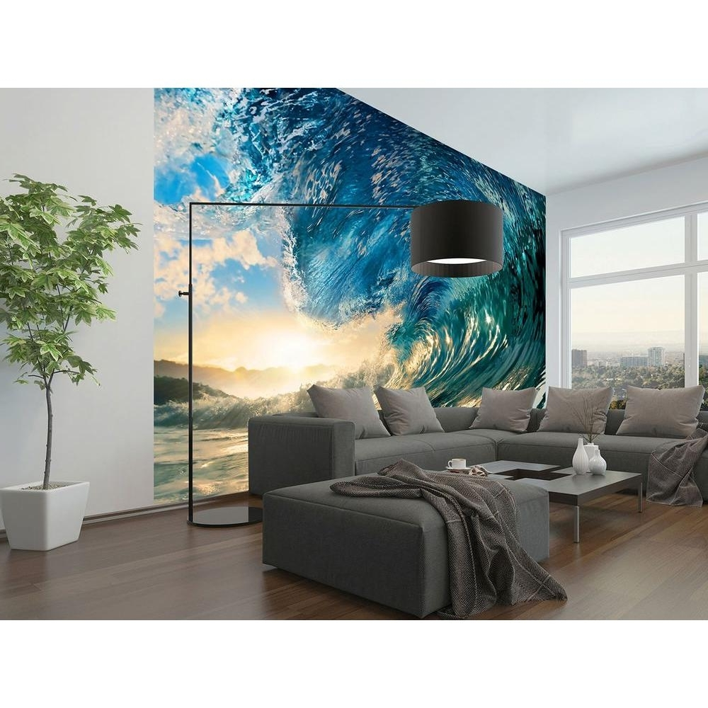Most Up To Date Beach – Wall Murals – Wall Decor – The Home Depot Inside Murals Wall Accents (View 7 of 15)
