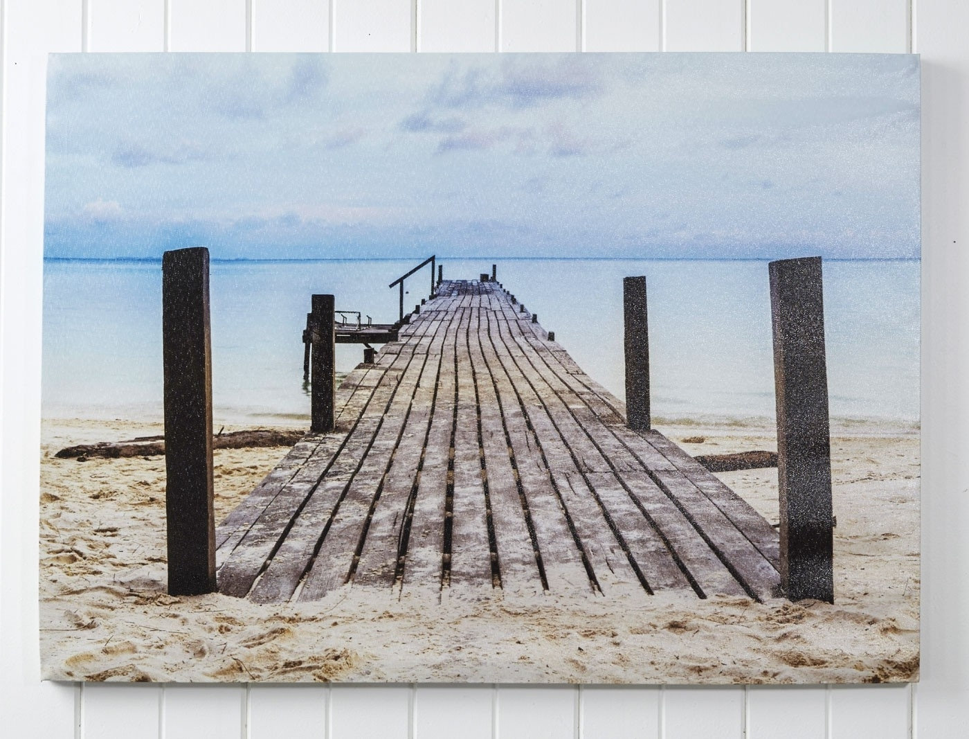 Most Up To Date Canvas Wall Art Jetty – Black/ Blue With Regard To Jetty Canvas Wall Art (View 8 of 15)