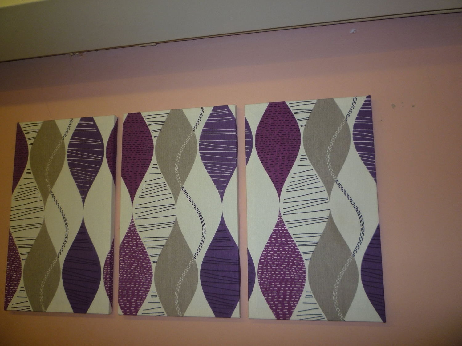 Featured Photo of Purple Fabric Wall Art
