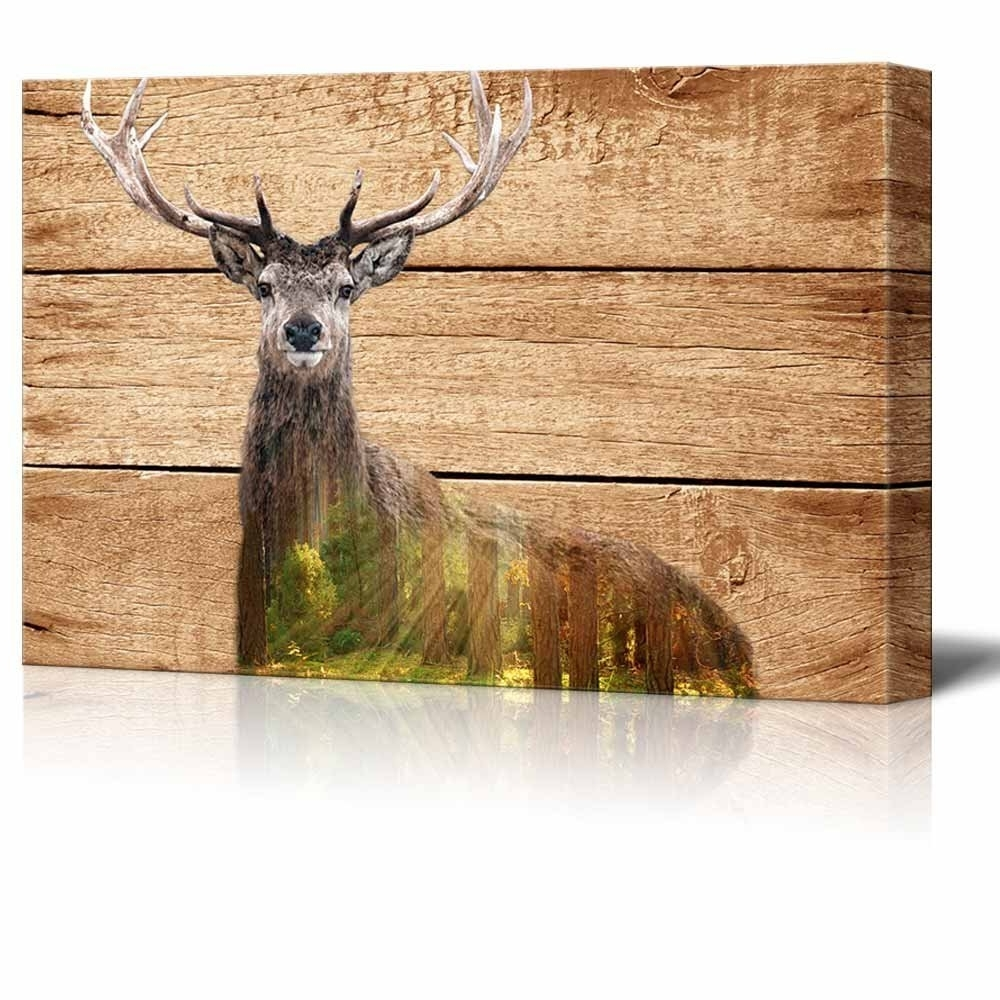 Most Up To Date Deer Canvas Wall Art Throughout Wall26 – Art Prints – Framed Art – Canvas Prints – Greeting (View 12 of 15)