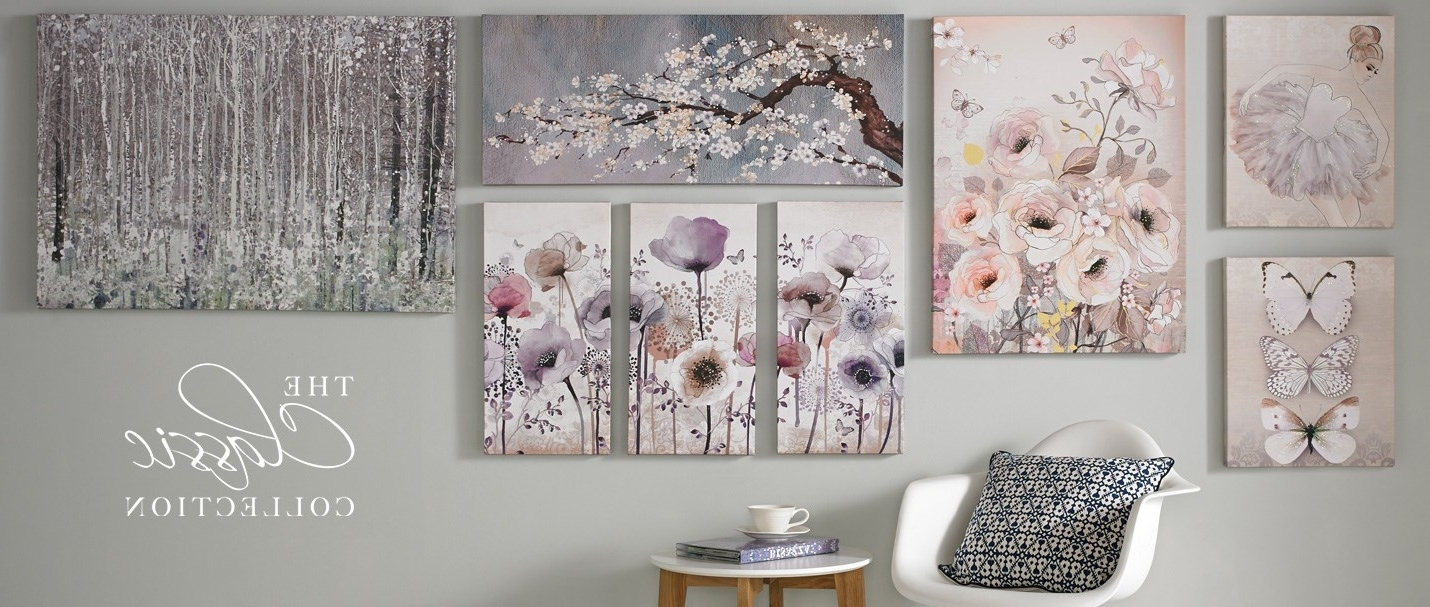 Most Up To Date Floral Fabric Wall Art Pertaining To Wall Art Designs: Astounding Pictures Wall Art To Be Hung On Your (View 10 of 15)