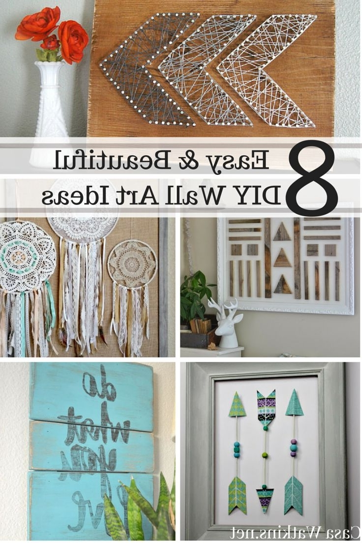 Most Up To Date Inexpensive Fabric Wall Art Regarding Diy Wall Decor Pinterest Small Wall Decor Ideas Inexpensive Wall (View 8 of 15)