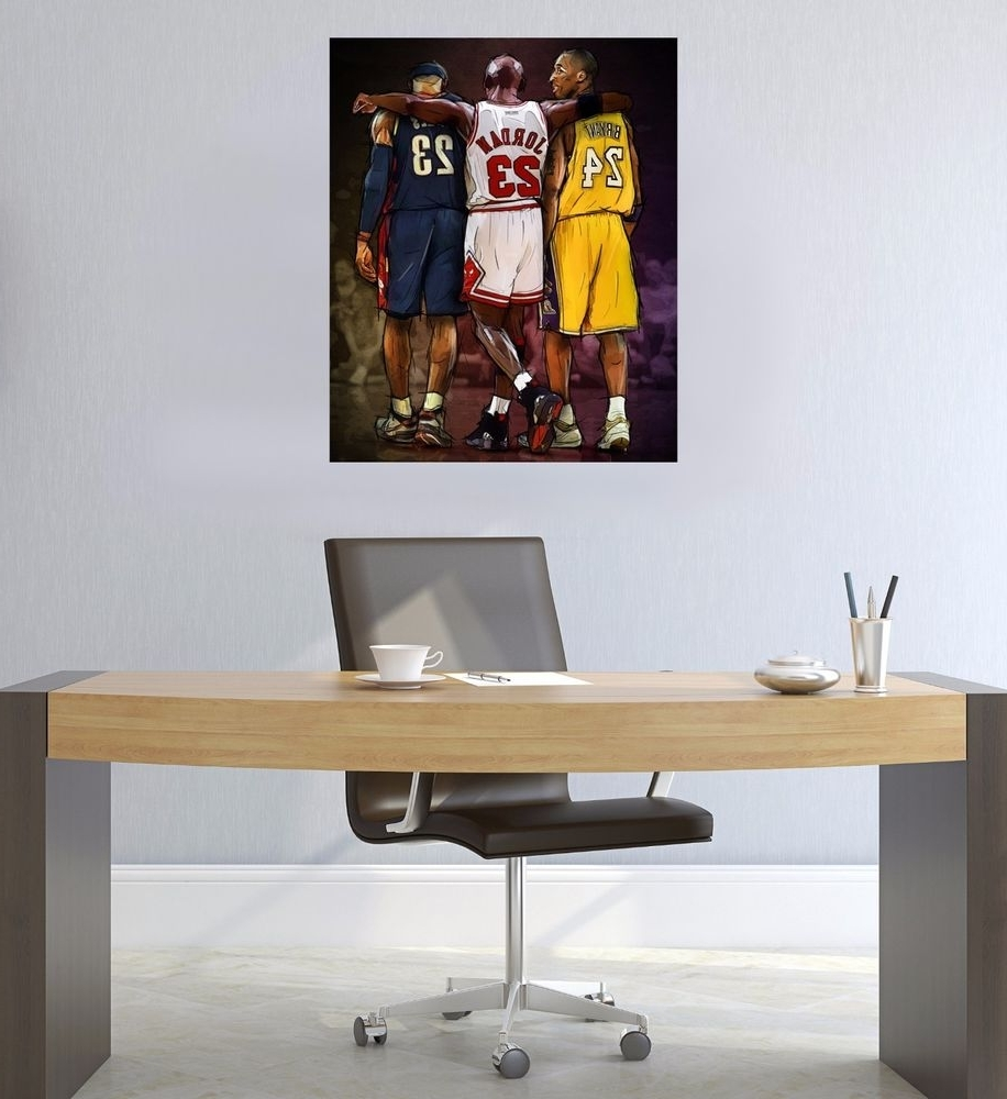 Most Up To Date Lebron James Canvas: Art (Gallery 15 of 15)