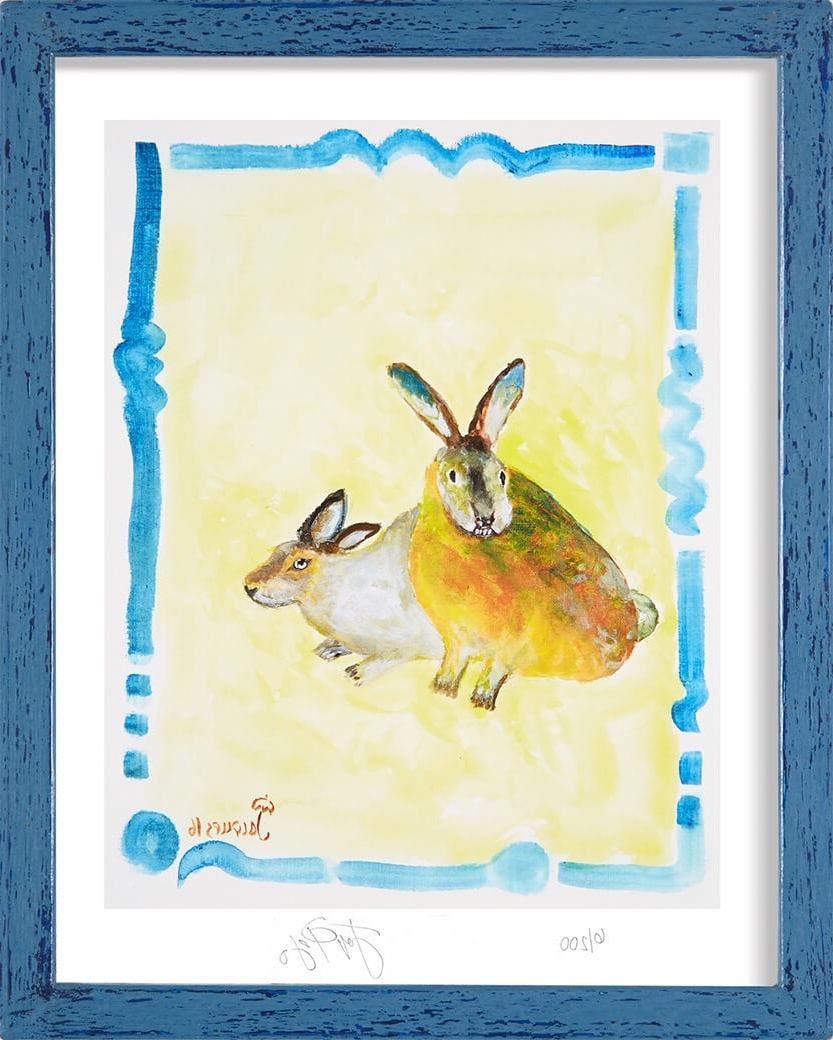 Most Up To Date Limited Edition Print Of Jacques Pepin's Original Animal Art Inside Framed Animal Art Prints (View 13 of 15)