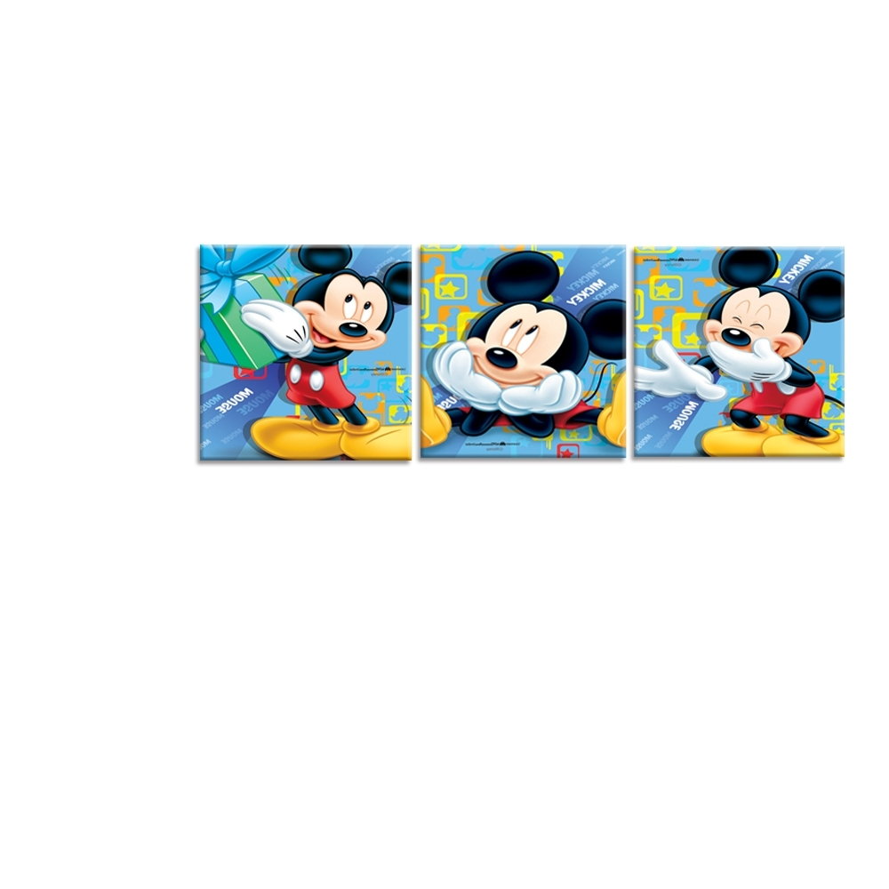 Featured Photo of Mickey Mouse Canvas Wall Art