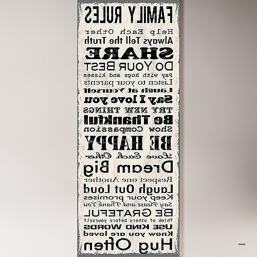 Most Up To Date Our Family Rules Wall Art Luxury Family Rules Canvas Wall Art Wall Within Canvas Wall Art Family Rules (View 12 of 15)