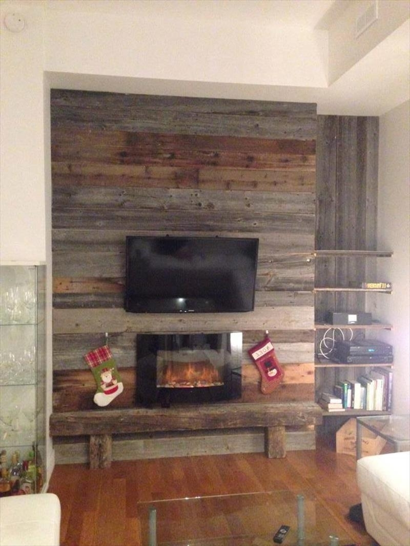 Most Up To Date Pallet Accent Wall – Design Decoration Intended For Wall Accents With Pallets (View 4 of 15)