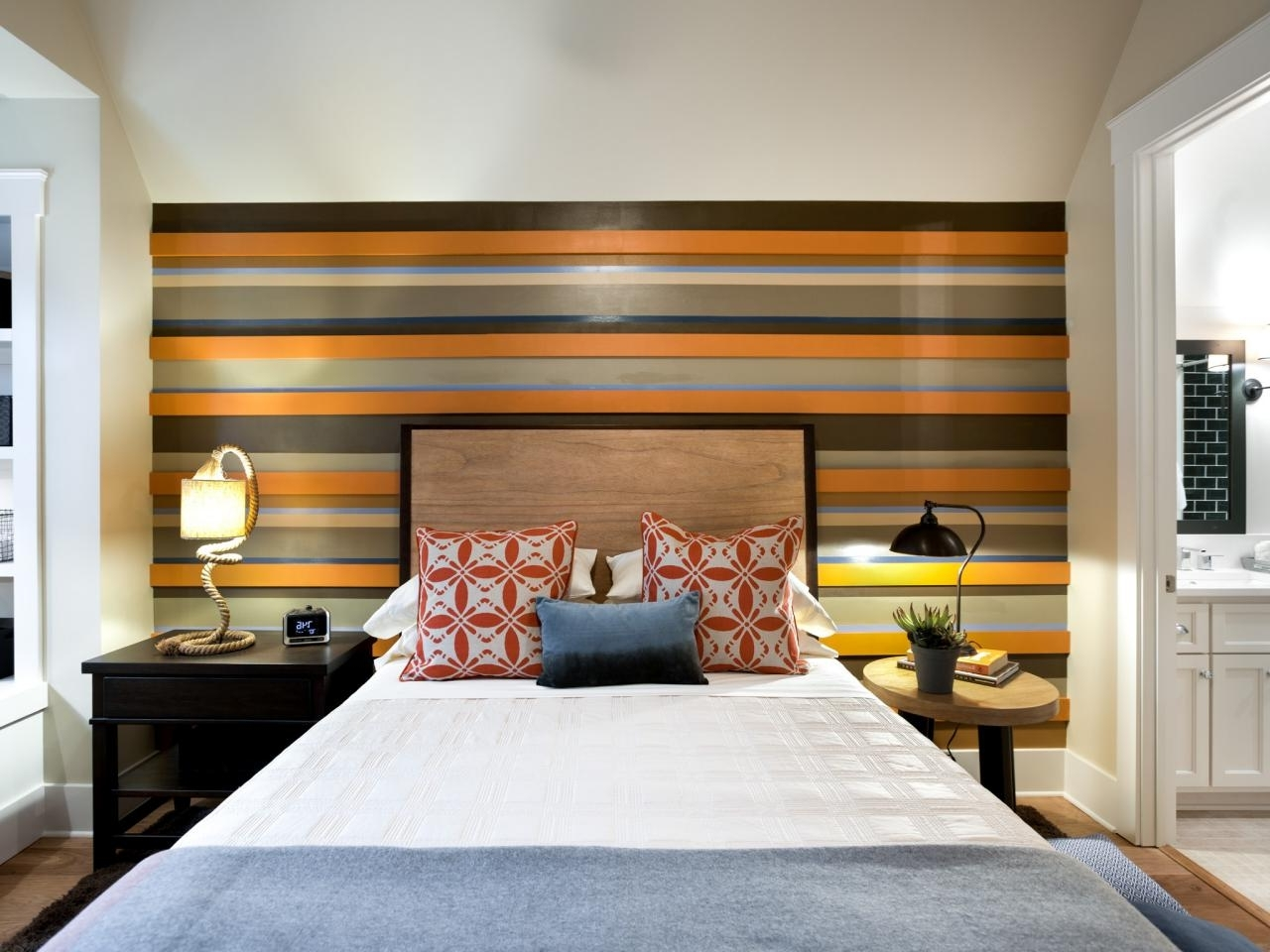Most Up To Date Stripe Wall Accents In Photo Page (Gallery 11 of 15)