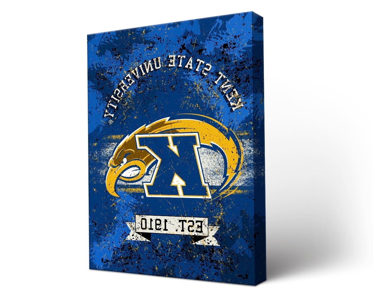 Most Up To Date Victory Tailgate – Kent State Golden Flashes Canvas Wall Art For Kent Canvas Wall Art (View 7 of 15)
