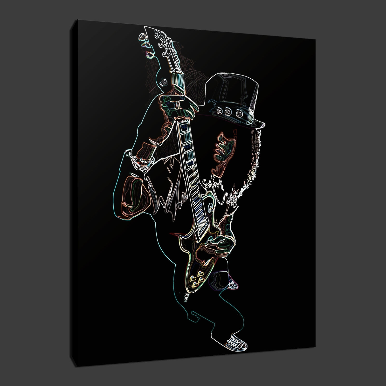 Music Canvas Wall Art In Preferred Canvas Print Pictures. High Quality, Handmade, Free Next Day Delivery (View 7 of 15)