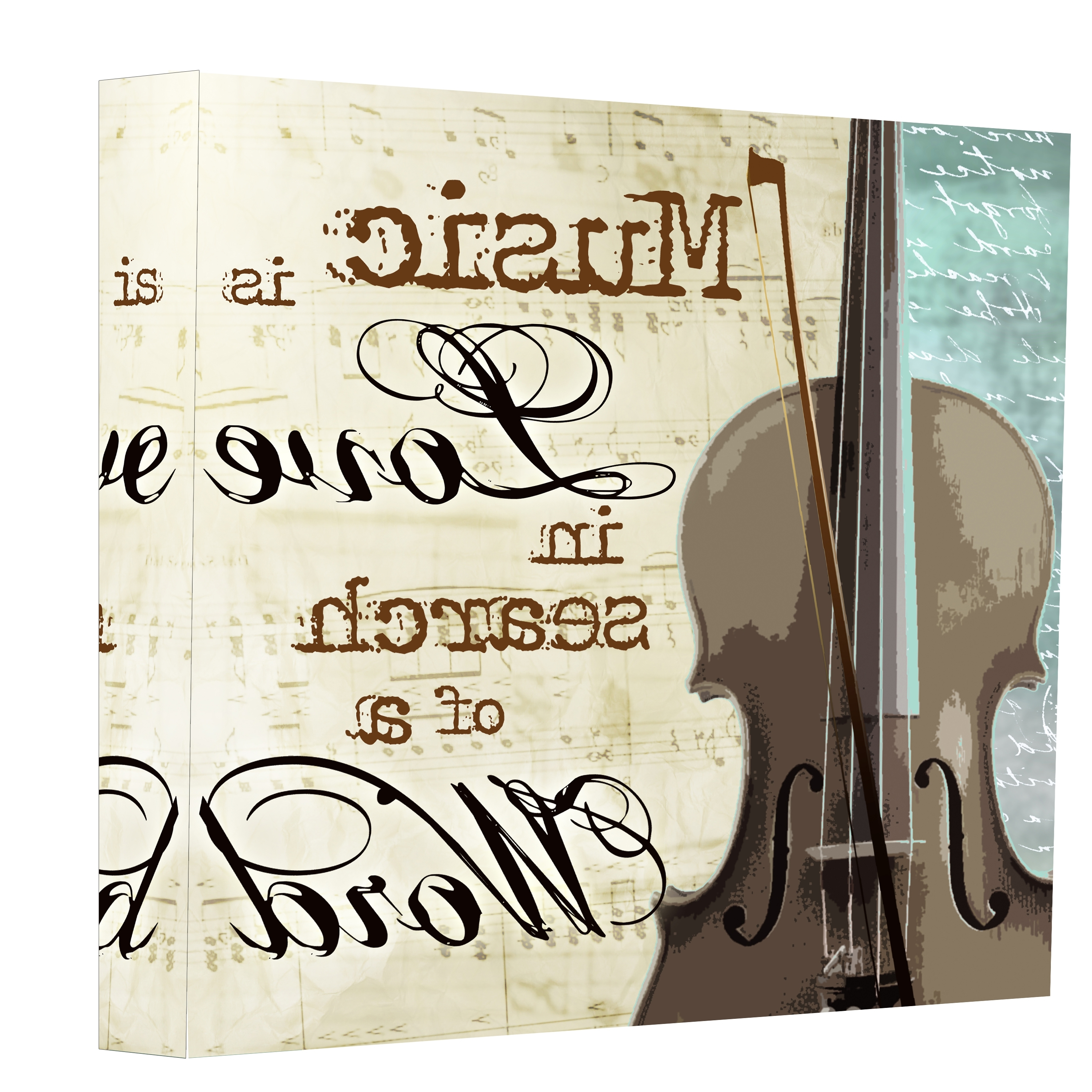 Music Is Love Canvas Wall Art – Ptmimages Pertaining To Latest Music Canvas Wall Art (View 10 of 15)