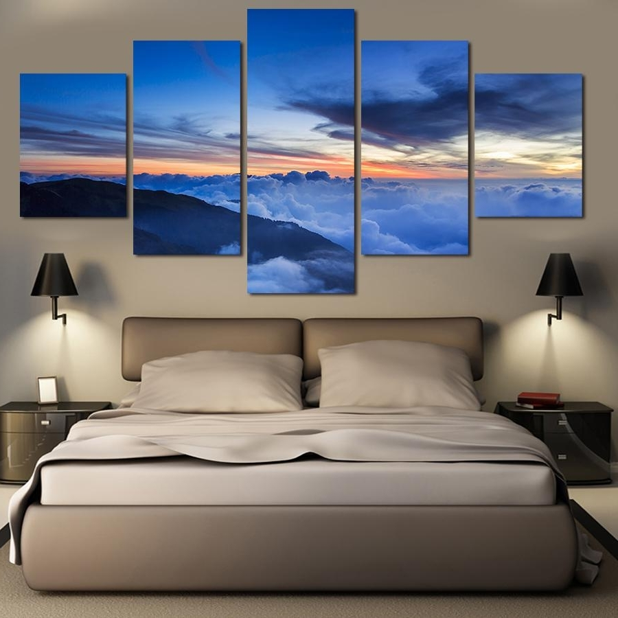 Nature Canvas Wall Art Regarding Most Recent Online Cheap Landscape Oil Paintings On Canvas Wall Art Beautiful (View 9 of 15)