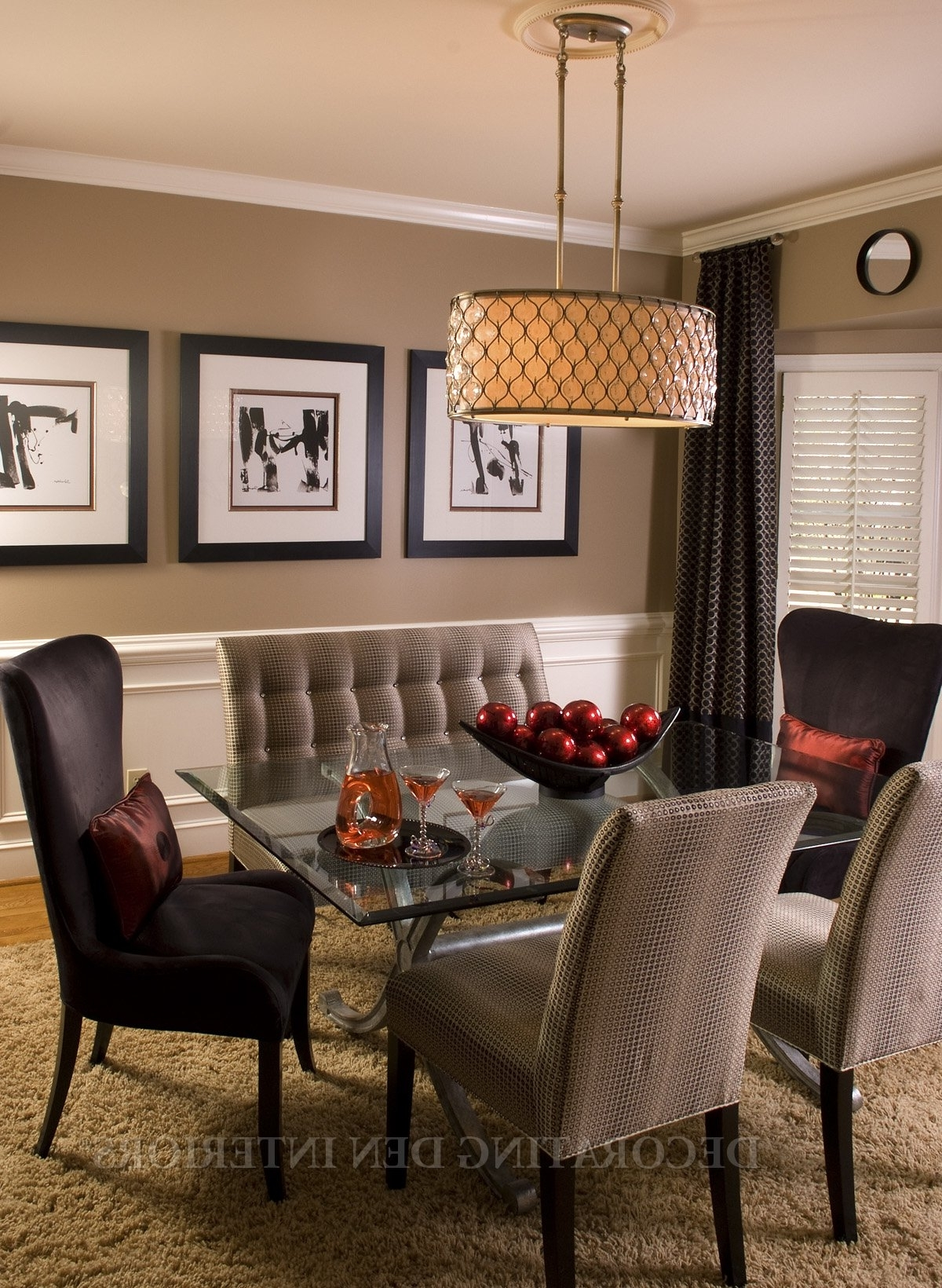 Neutral Color Wall Accents In 2018 Dining Room : Dining Room Modern Walls Wall Furniture Art (View 12 of 15)