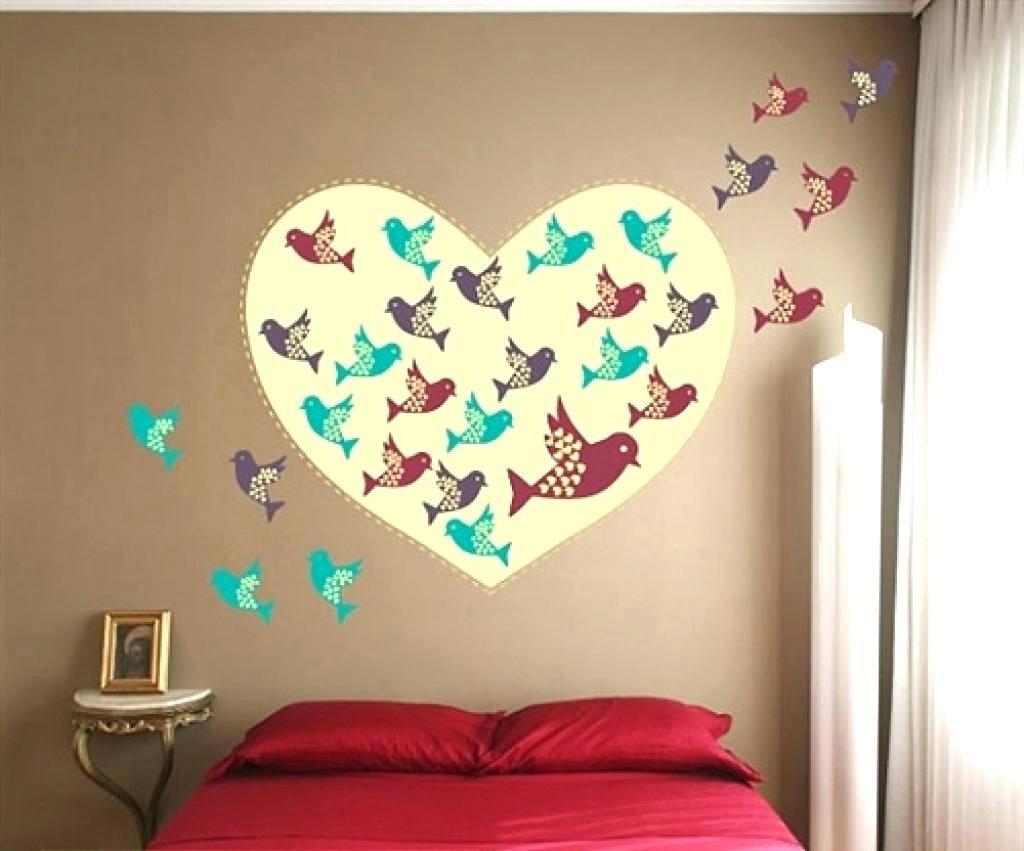 Newest Fabric Bird Wall Art In Bird Wall Decals For Nursery Wall Ideas Decorative Fabric Wall Art (View 12 of 15)