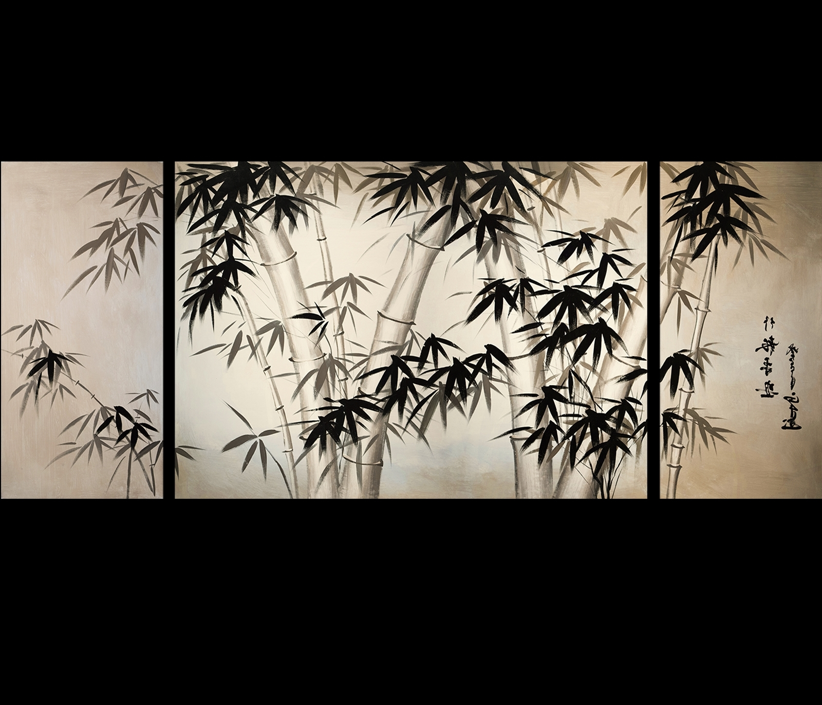 Newest Giclee Artwork Canvas Art Fine Art Prints Wall Art Japanese Bamboo In Japanese Canvas Wall Art (View 10 of 15)