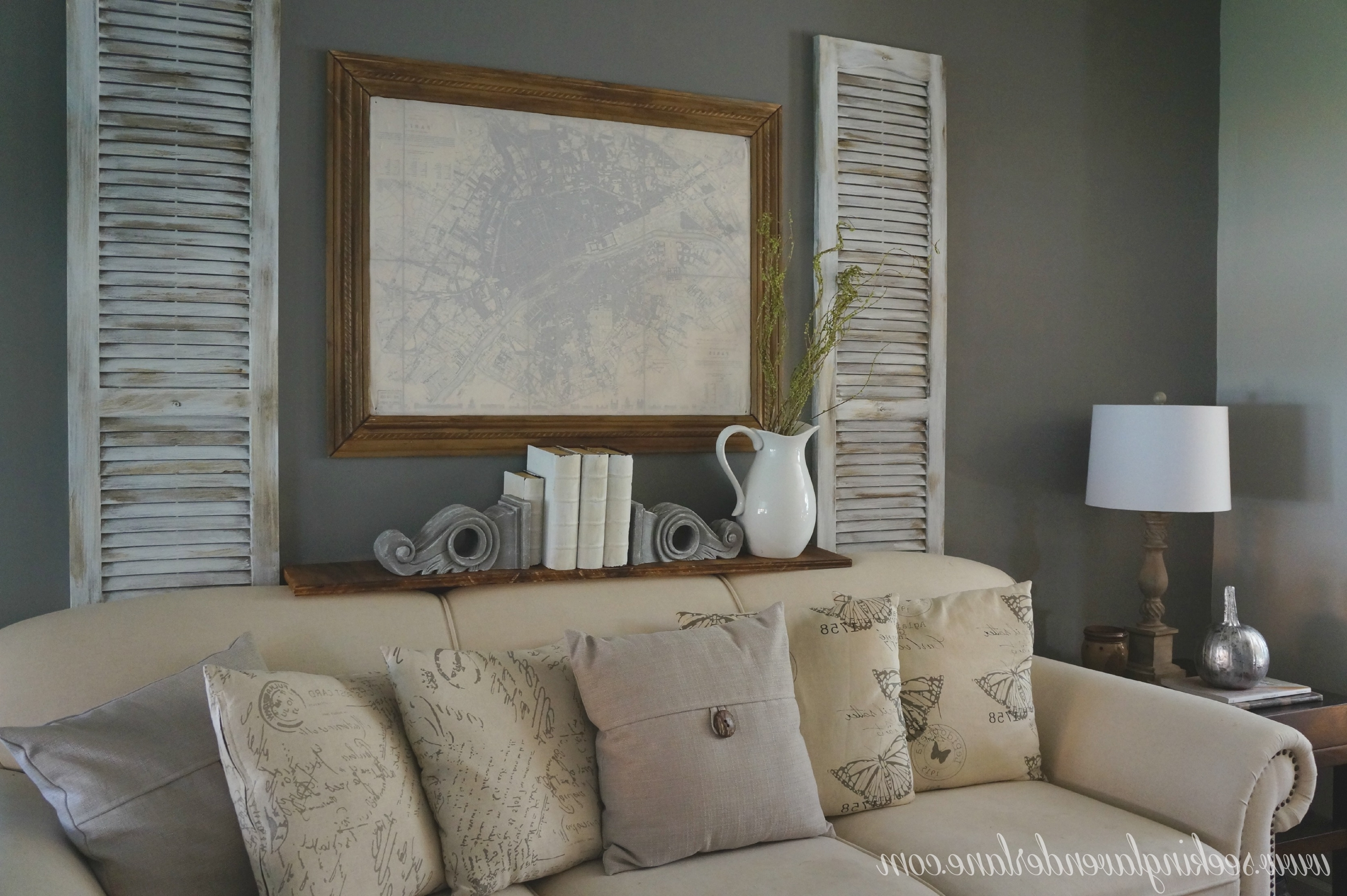 Newest Gray Wall Accents Throughout Living Room : Grey Walling Room Walls Design Decor Fancy In Spiffy (Gallery 3 of 15)