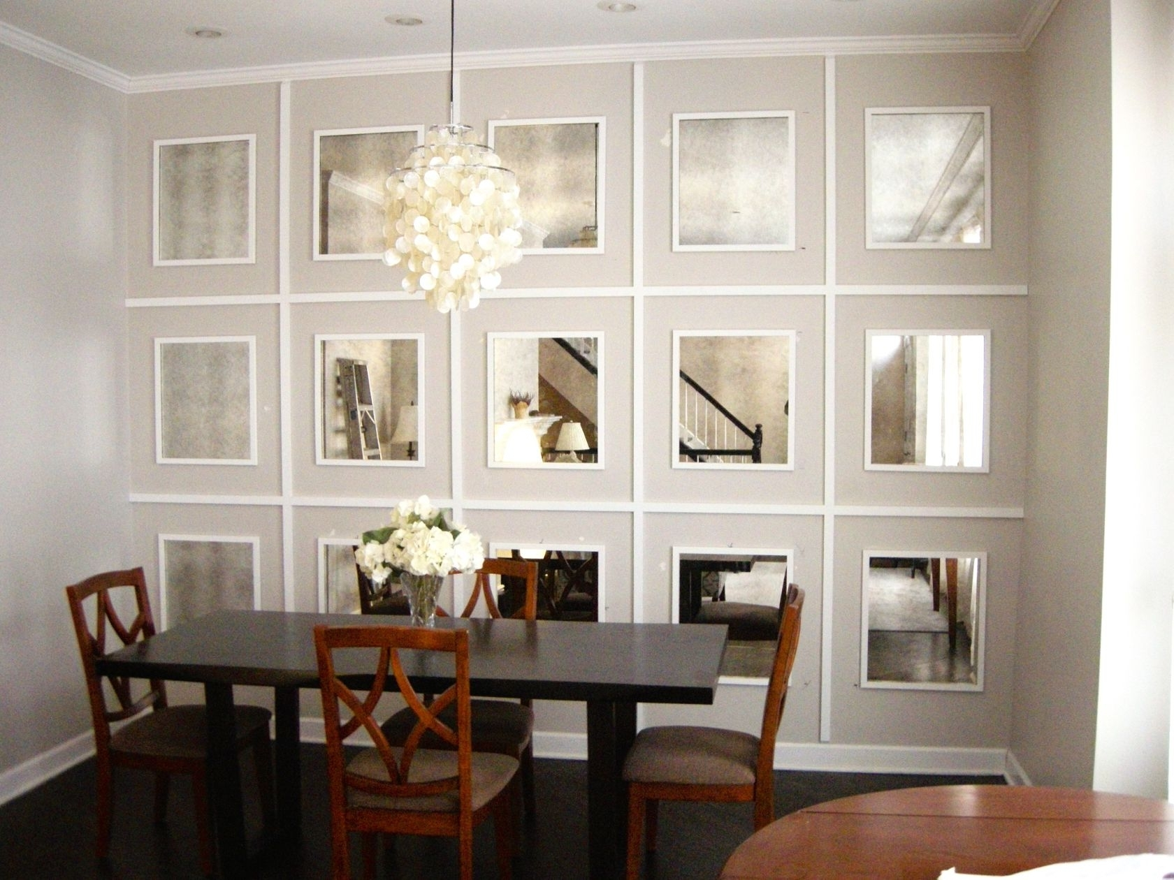 Newest Mirrors Wall Accents Pertaining To Custom Framed Mirrors (View 11 of 15)