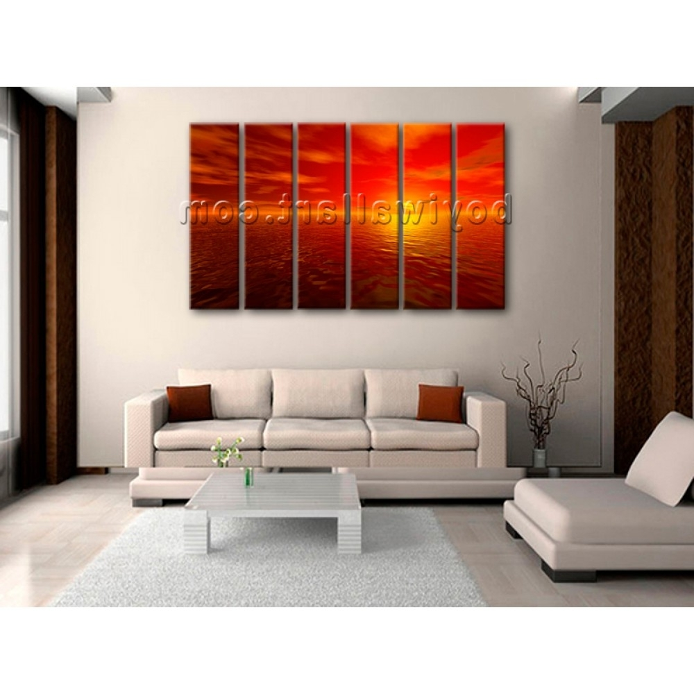 Newest Mississauga Canvas Wall Art Intended For Nifty Wall Art Designs 10 Big Wall Art Painting Design Canvasworld (View 9 of 15)