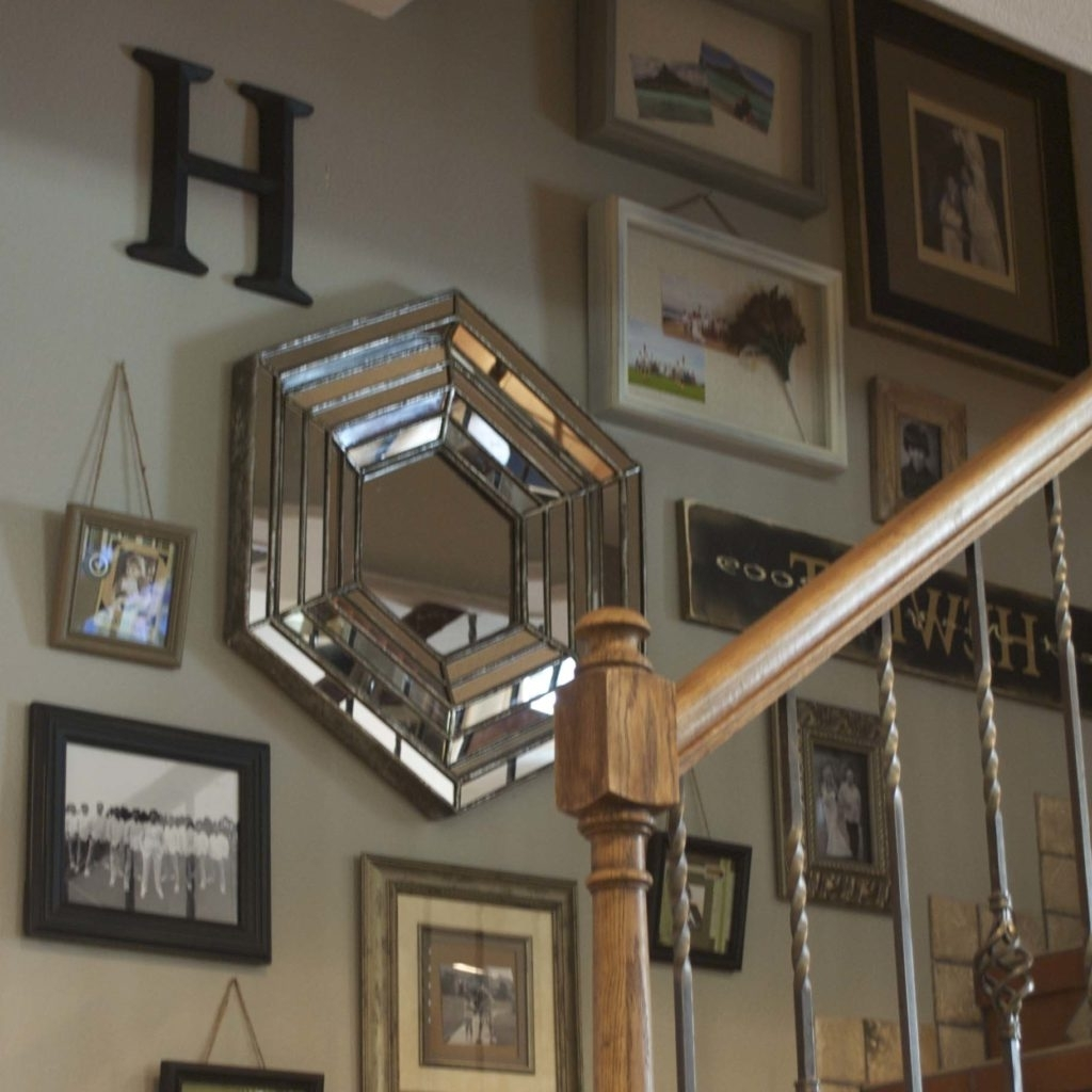 Newest Staircase Wall Accents Throughout The Key To Successful Stair Wall Decorations (Gallery 13 of 15)