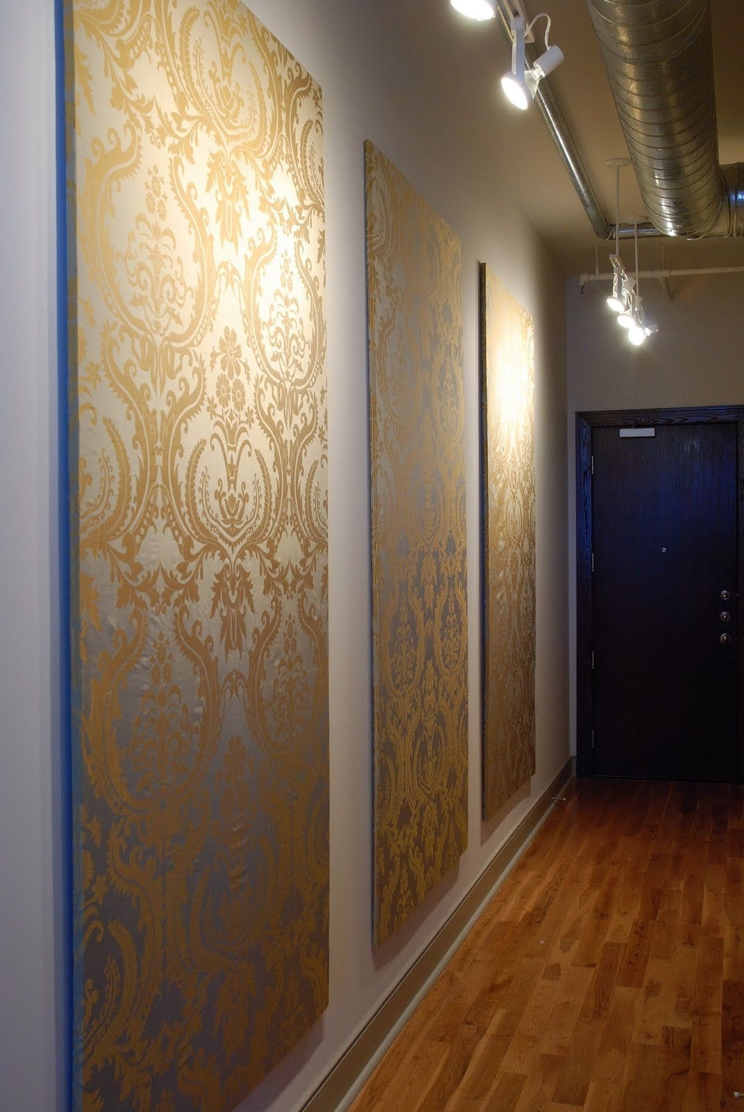 Newest Temporary Wall Coverings: 7 Great Ideas For When You Can't Paint In Foam Board Fabric Wall Art (View 10 of 15)
