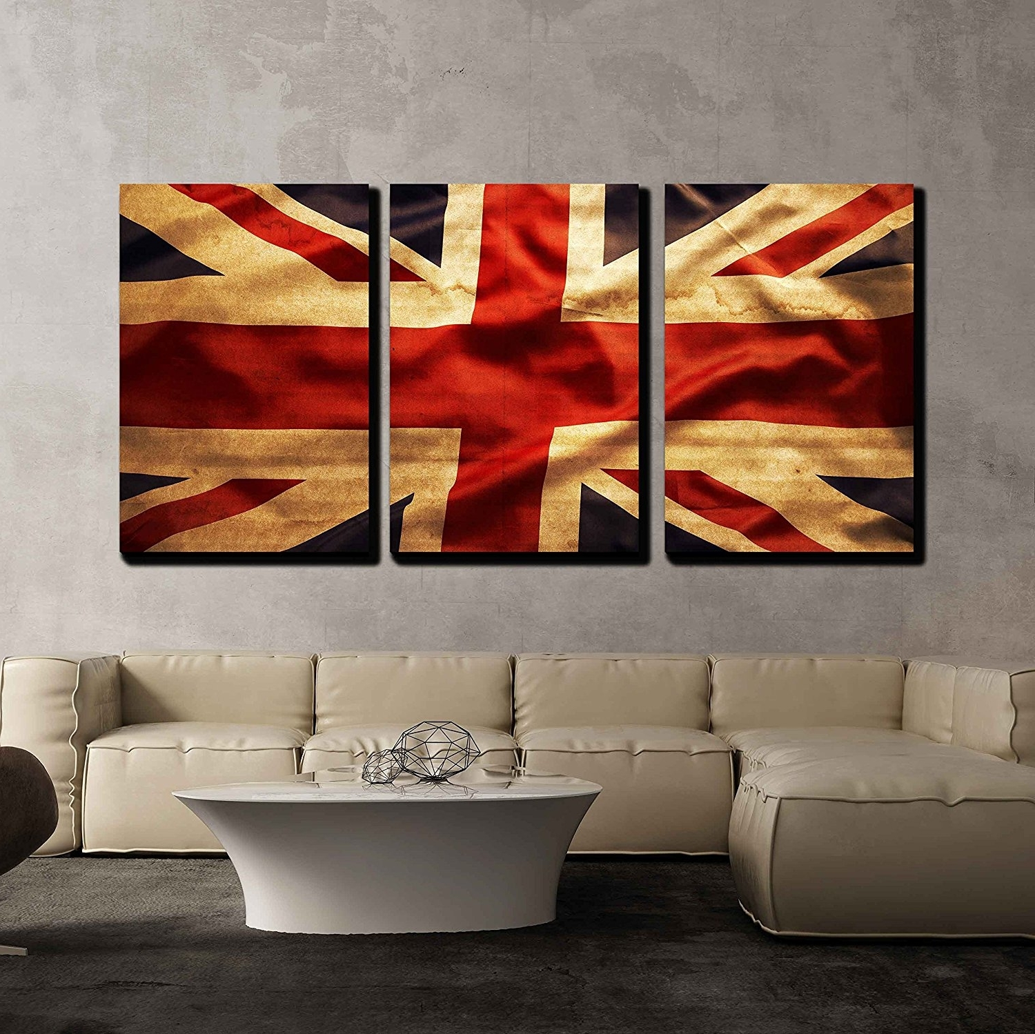Newest Union Jack Canvas Wall Art With Wall26 – Art Prints – Framed Art – Canvas Prints – Greeting (View 4 of 15)