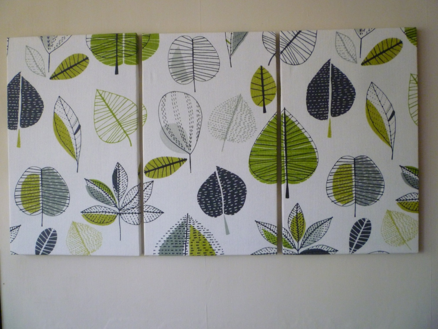 Newest Wall Art Designs: Fabric Wall Art Big Lime Green Fabric Wall Art With Regard To Canvas And Fabric Wall Art (View 3 of 15)