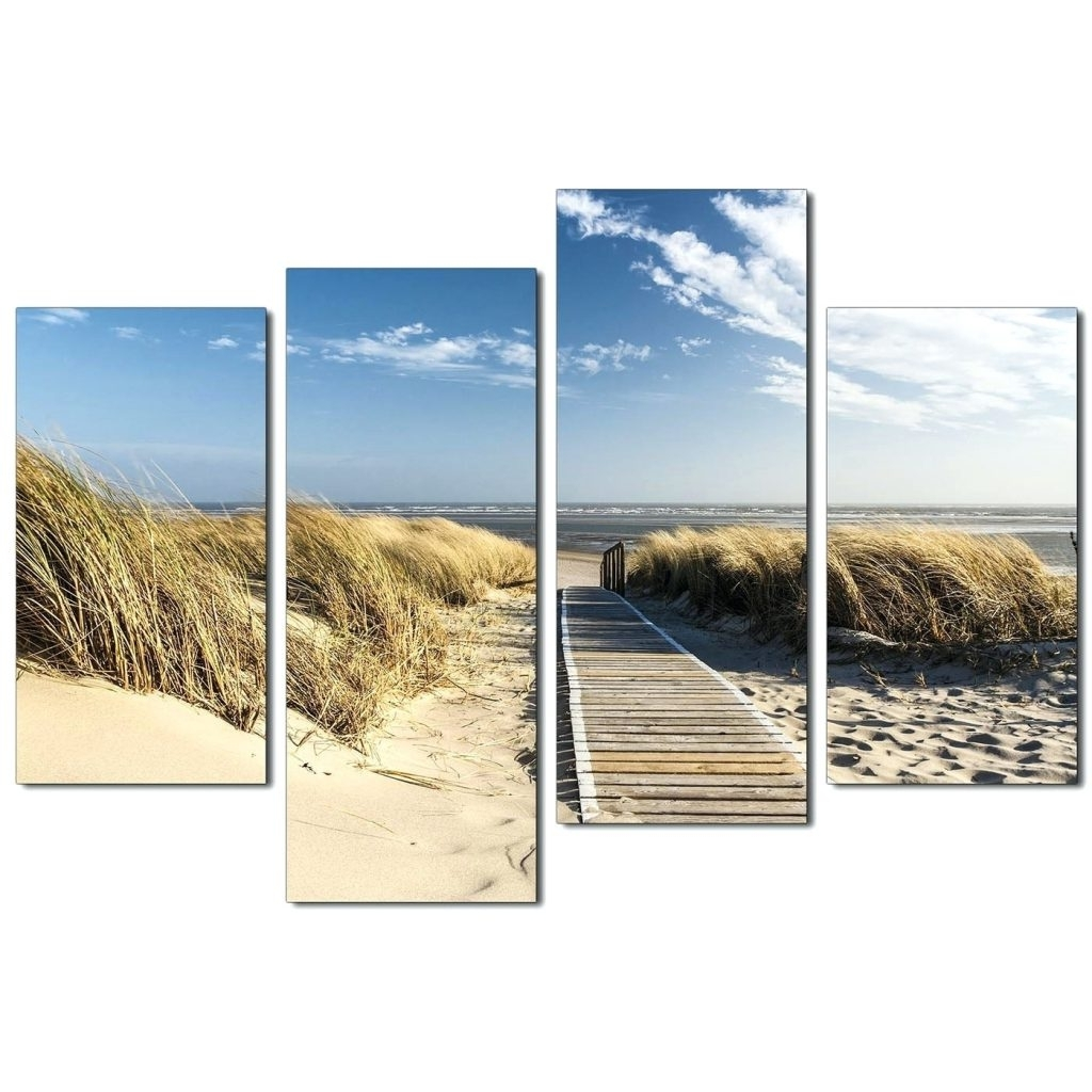 Newest Wall Arts ~ Beach Scene Wall Art Canvas Display Gallery Item 3 Regarding Canvas Wall Art Beach Scenes (View 15 of 15)