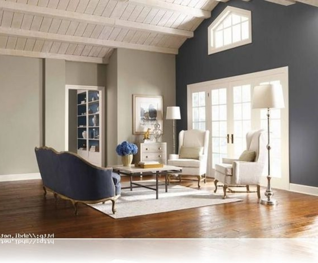 Newest Wall Colors And Accents Throughout Living Room : Accent Walls Living Room Rounded Corners Wall Ideas (View 8 of 15)
