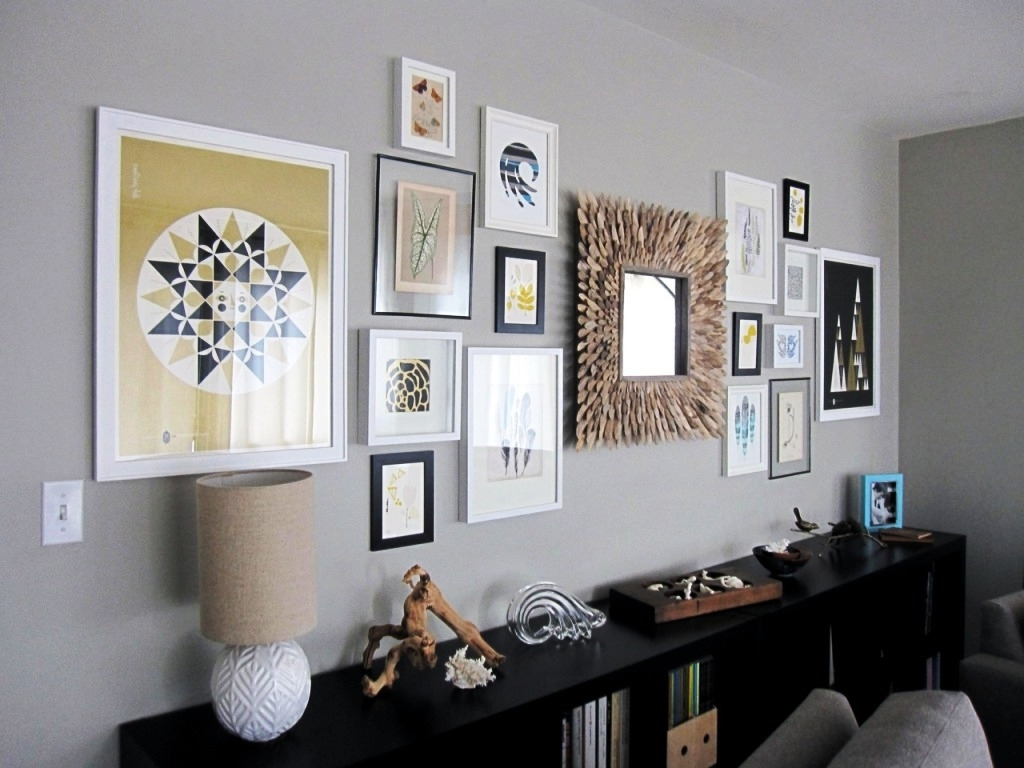 Nice Mirror Sets Wall Decor : Mirror Ideas – Awesome Design Of With Best And Newest Frames Wall Accents (View 11 of 15)