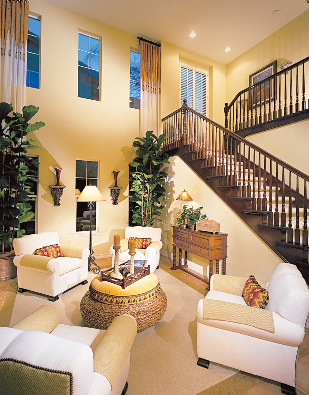 Not A Fan Of Stairs, But I Don't Think I'd Mind Them If The Rest Pertaining To Well Known High Ceiling Wall Accents (View 13 of 15)