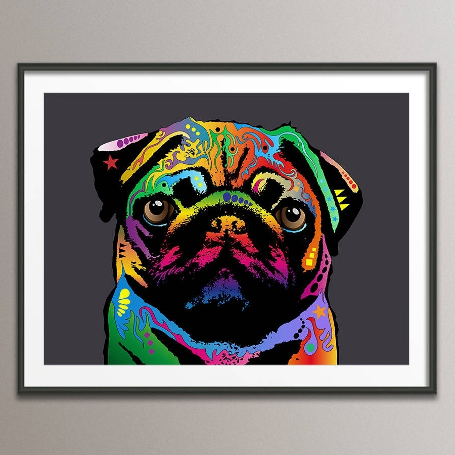 Notonthehighstreet For Current Dog Art Framed Prints (View 8 of 15)