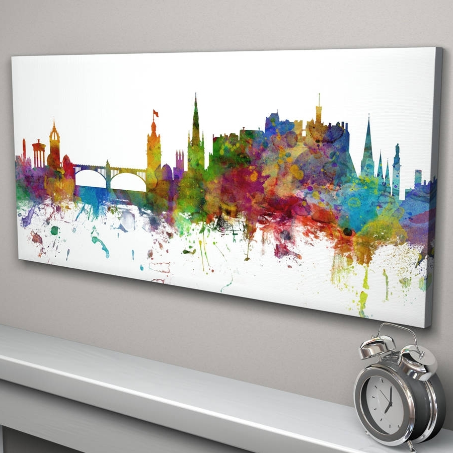 Notonthehighstreet In Glasgow Canvas Wall Art (View 12 of 15)