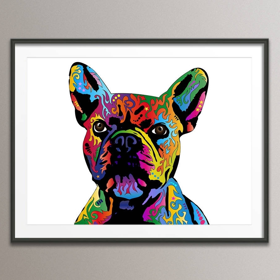 Notonthehighstreet Regarding Most Current Dog Art Framed Prints (View 9 of 15)