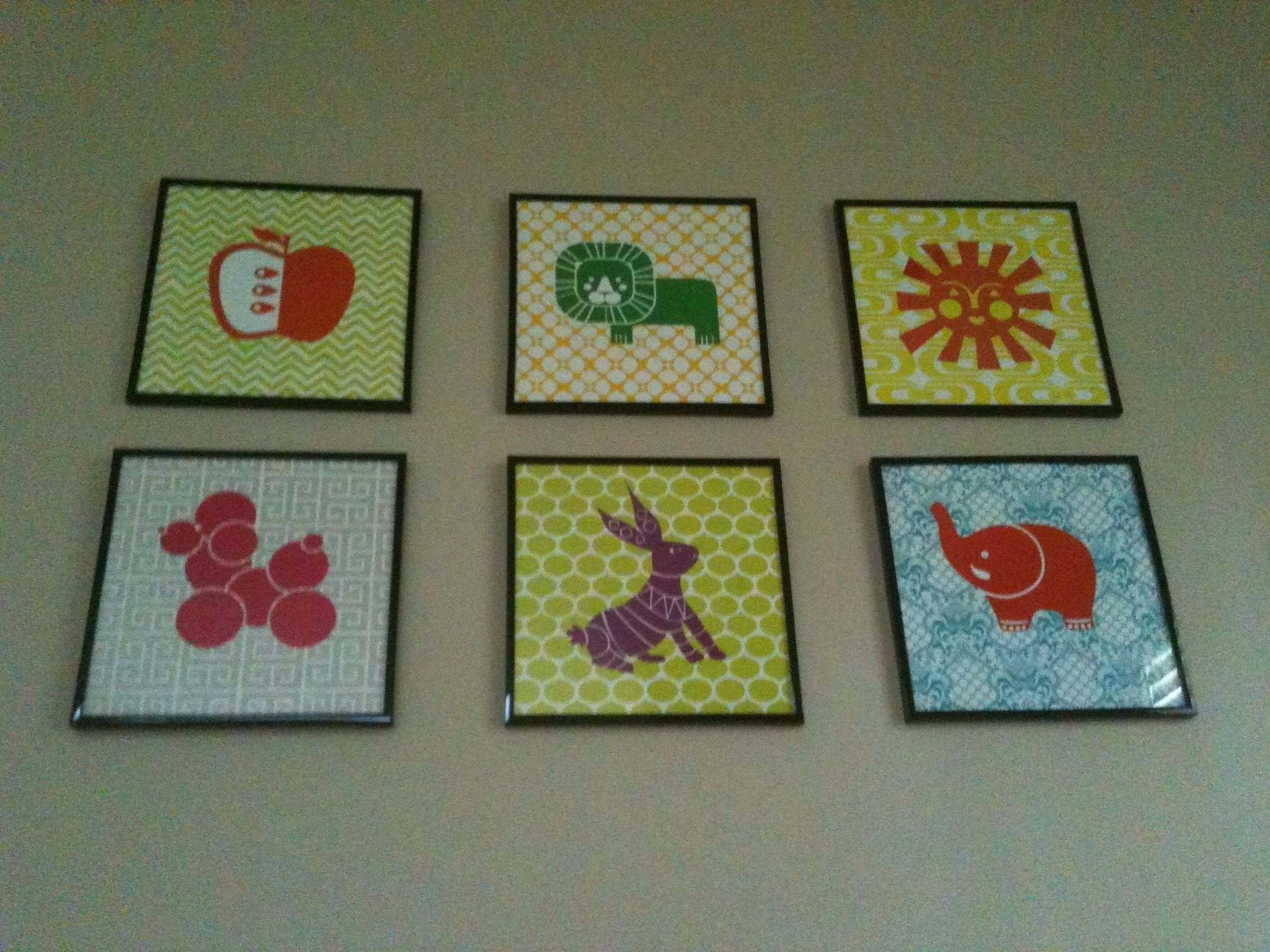 Nursery Fabric Wall Art With Recent Fresh Creative Wall Art For Nursery # (View 12 of 15)