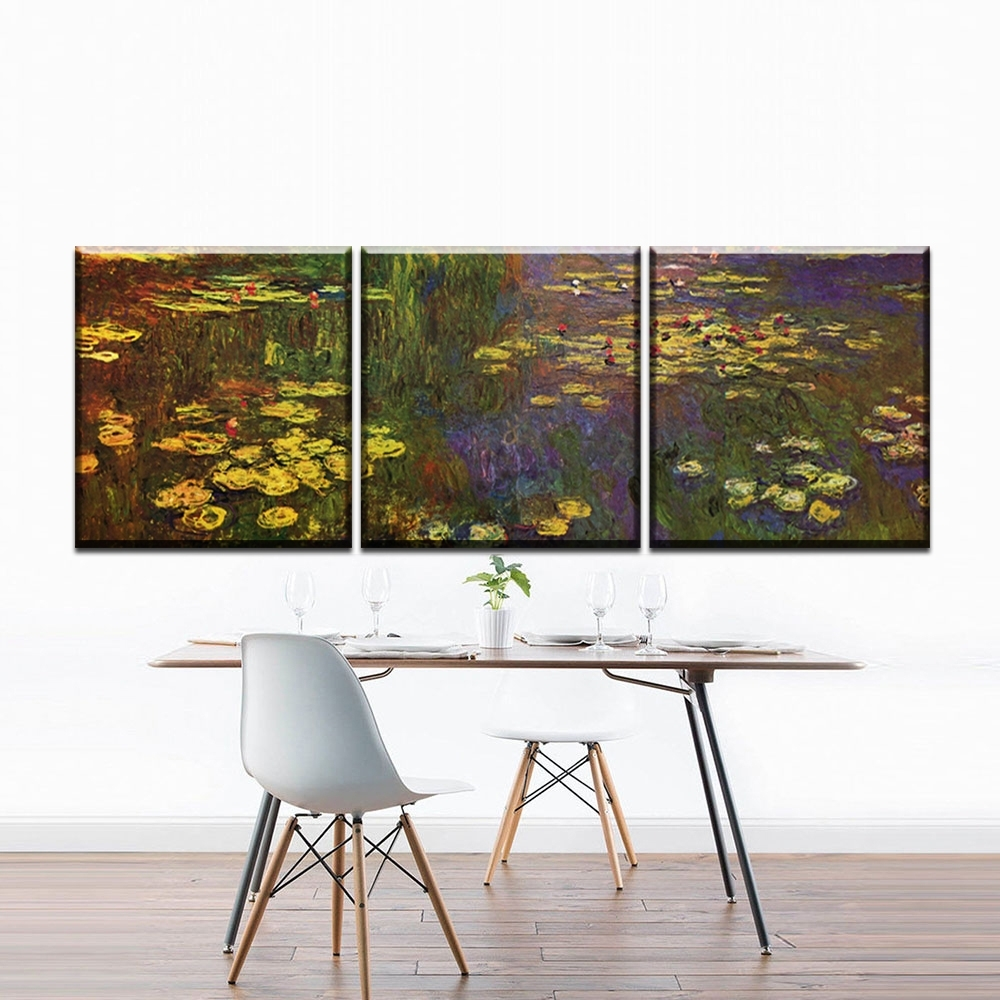 Online Buy Wholesale Monet Canvas Prints From China Monet Canvas Inside Most Recent Monet Canvas Wall Art (View 9 of 15)