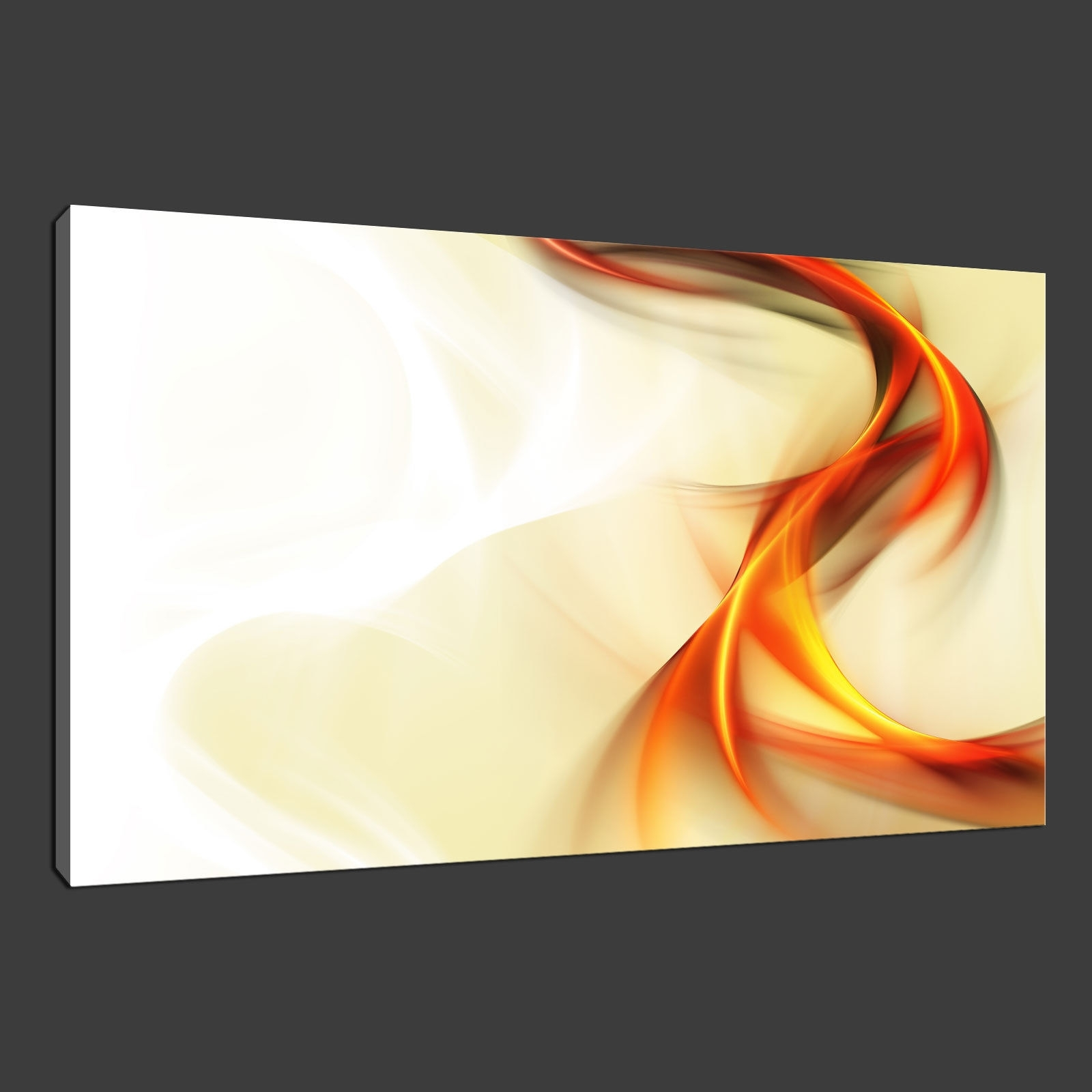 Orange Canvas Wall Art Inside Most Up To Date Canvas Print Pictures. High Quality, Handmade, Free Next Day Delivery (View 10 of 15)