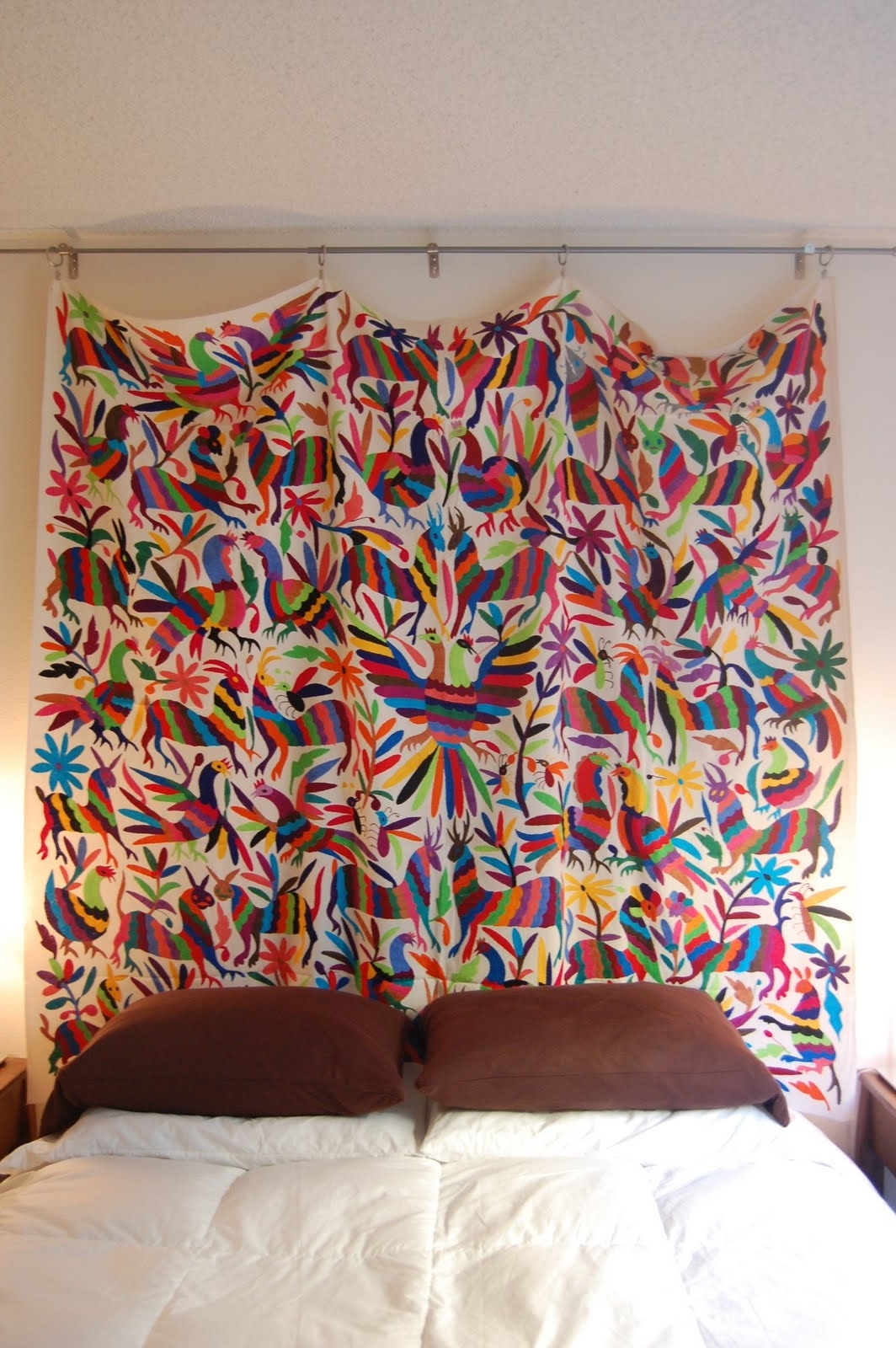 Otomi ~ Http://www.lafuente/mexican Art/otomi Tapestries With Widely Used Mexican Fabric Wall Art (Gallery 11 of 15)