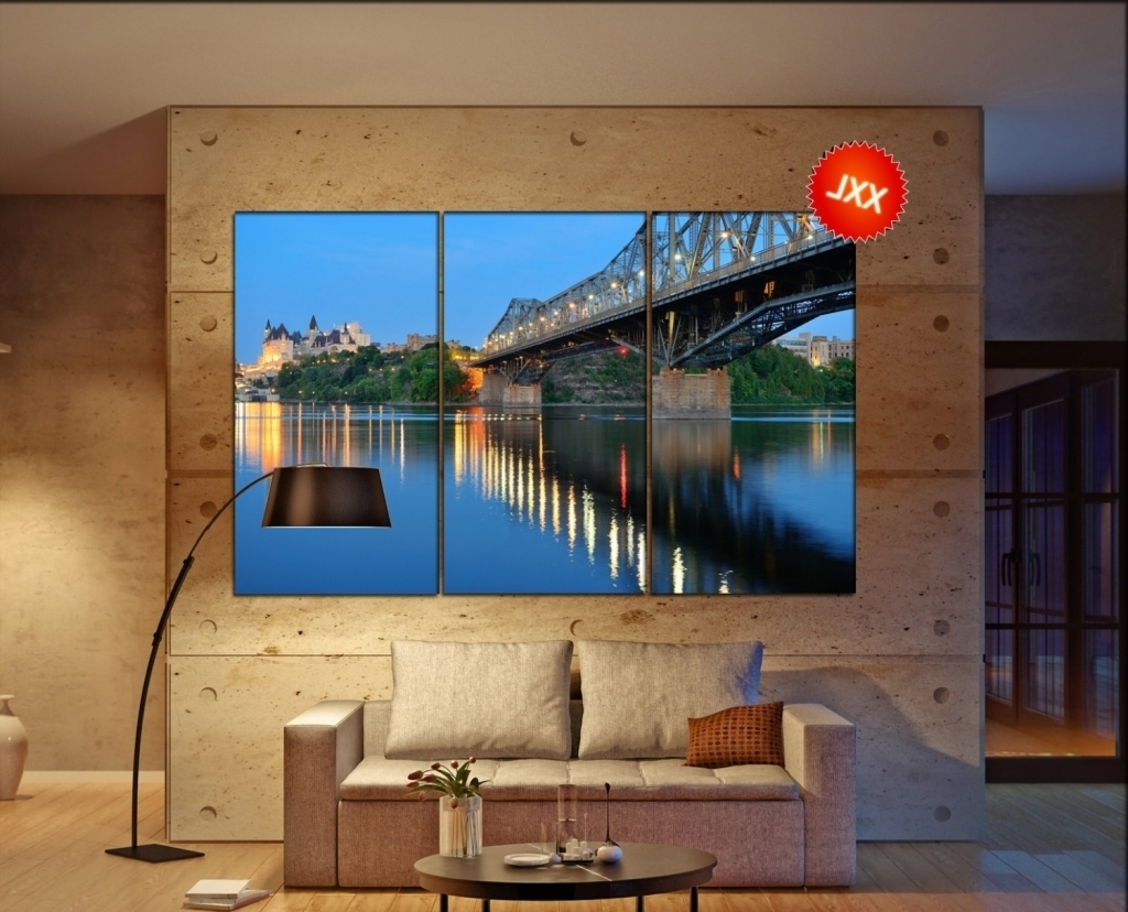 Featured Photo of Ottawa Canvas Wall Art